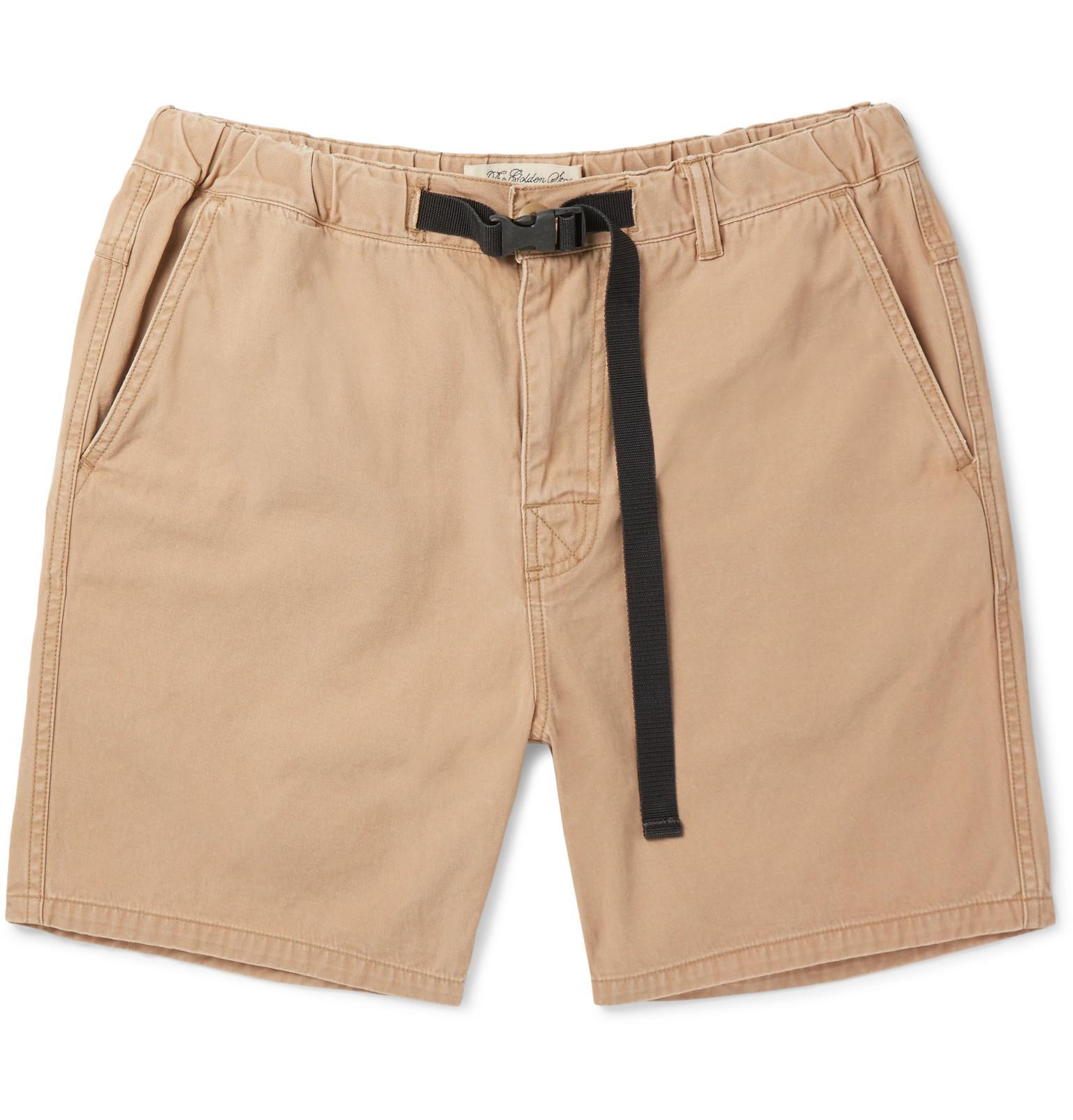 Relief Shorts algodón ajustados de Remi sarga de PAxPg