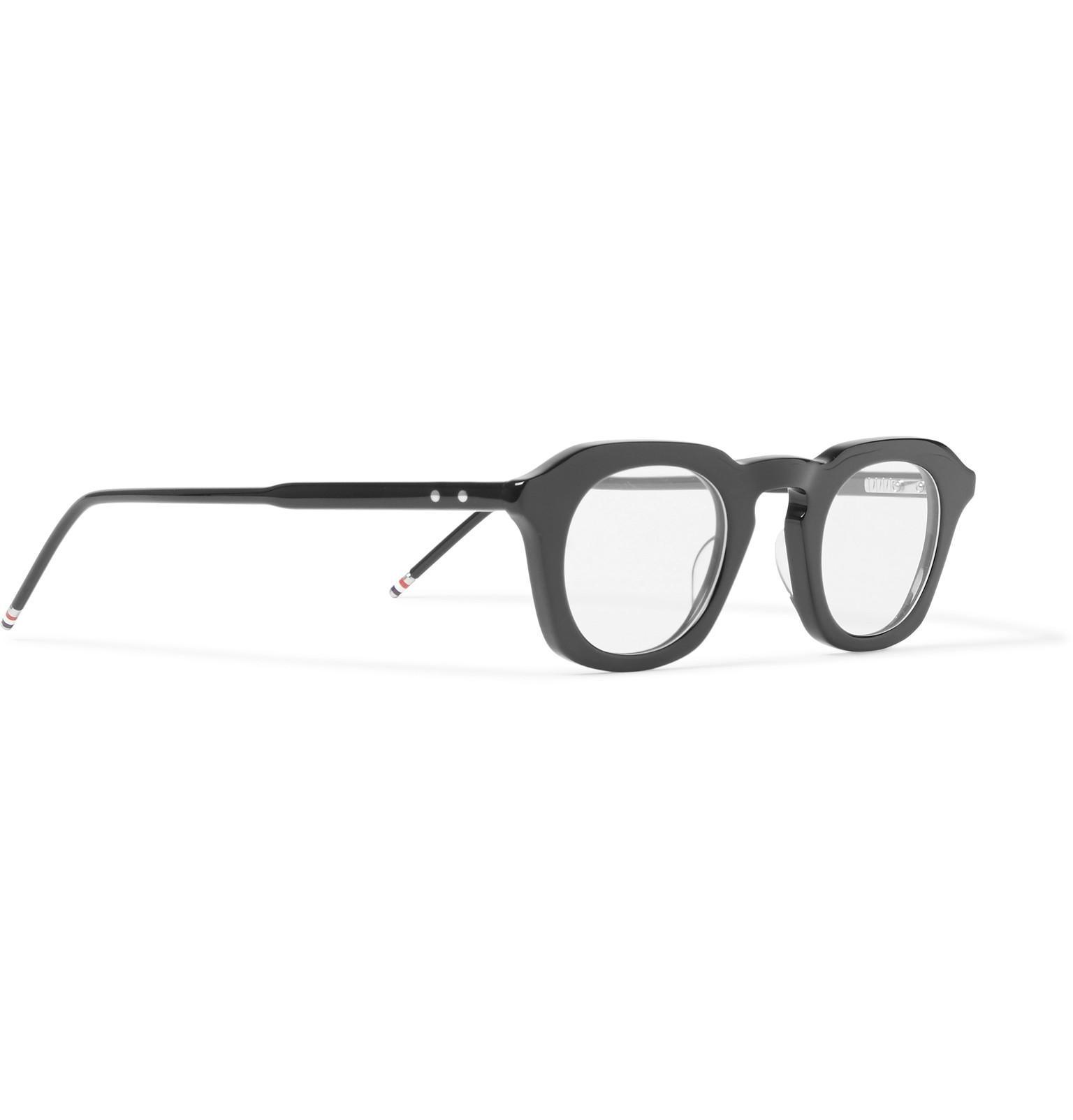 6bdcc2d9cb282 Thom Browne 414 D-frame Acetate Optical Glasses in Black for Men - Lyst