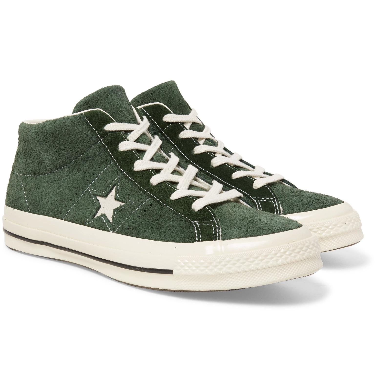 a649305369 Converse 1974 One Star Suede Sneakers in Green for Men - Lyst