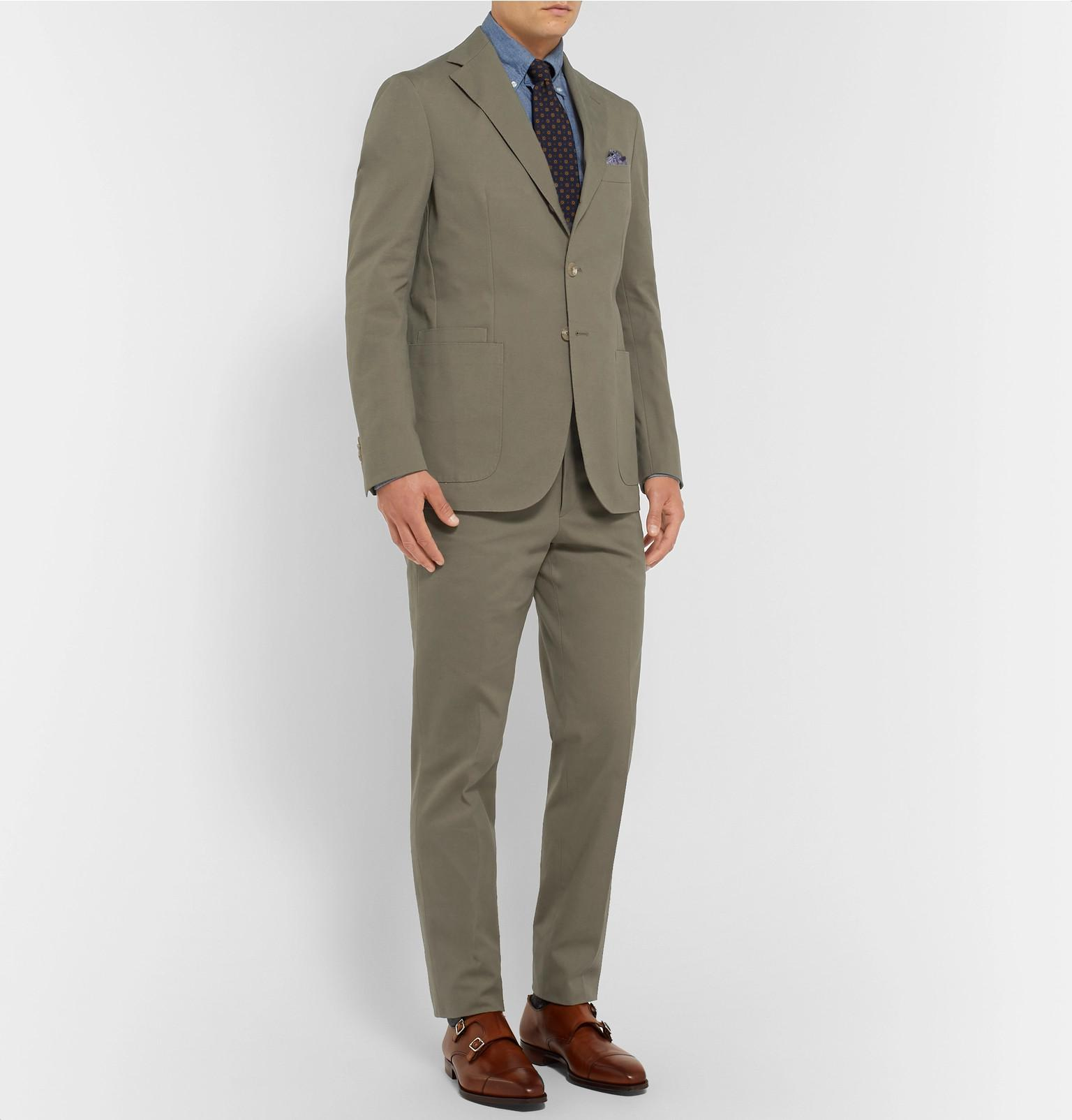 86d26262 drakes-green-Green-Easyday-Cotton-canvas-Suit-Trousers.jpeg
