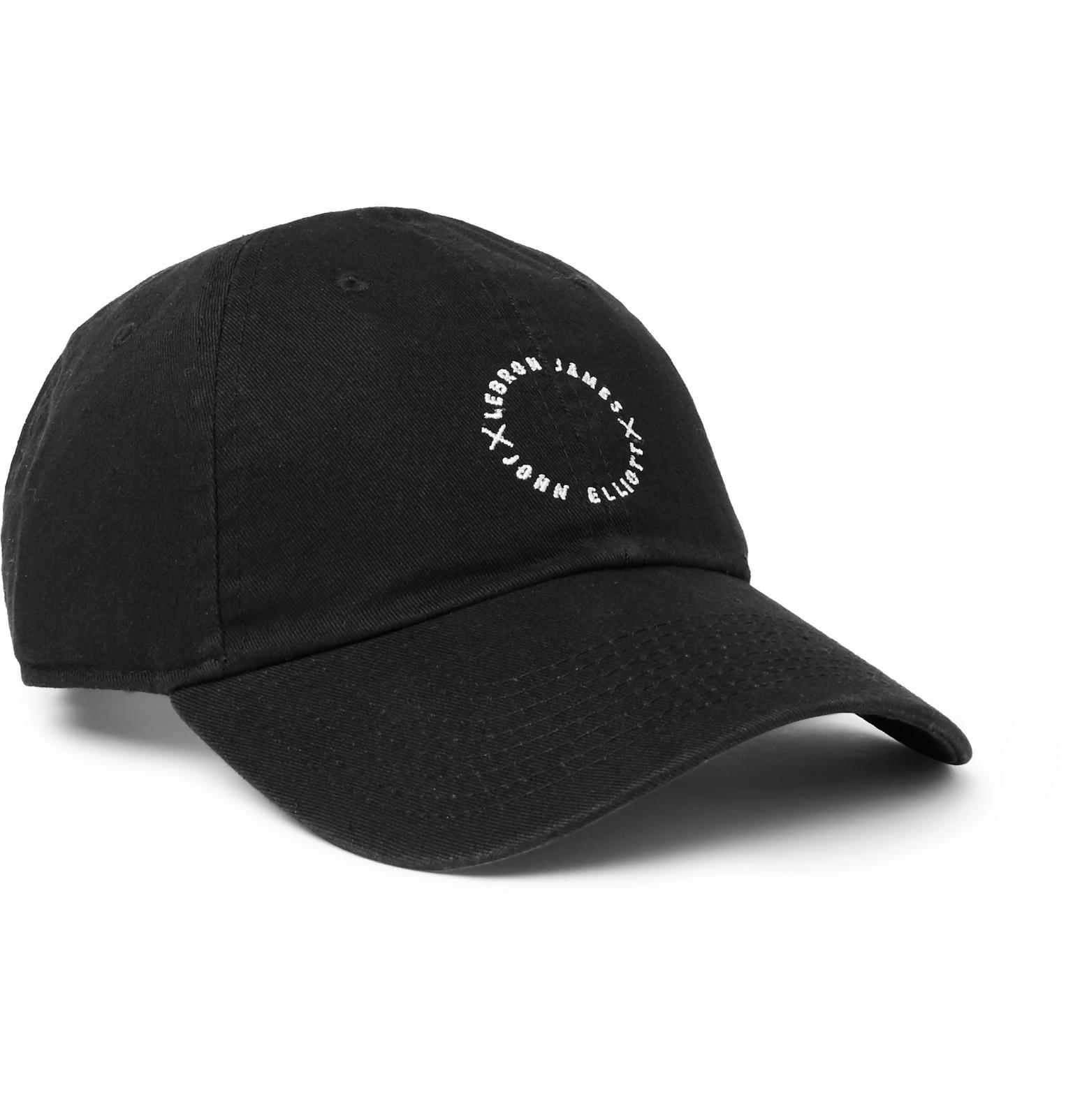 preview of offer discounts sleek + Lebron James X John Elliott Embroidered Cotton-twill Baseball Cap