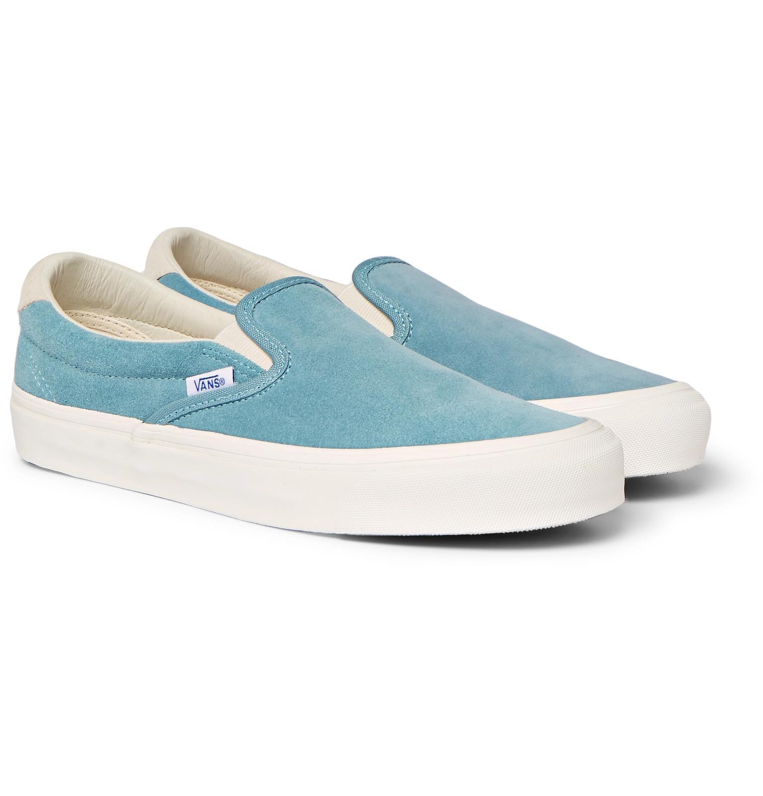 Vans Og Classic Lx Suede Slip-on