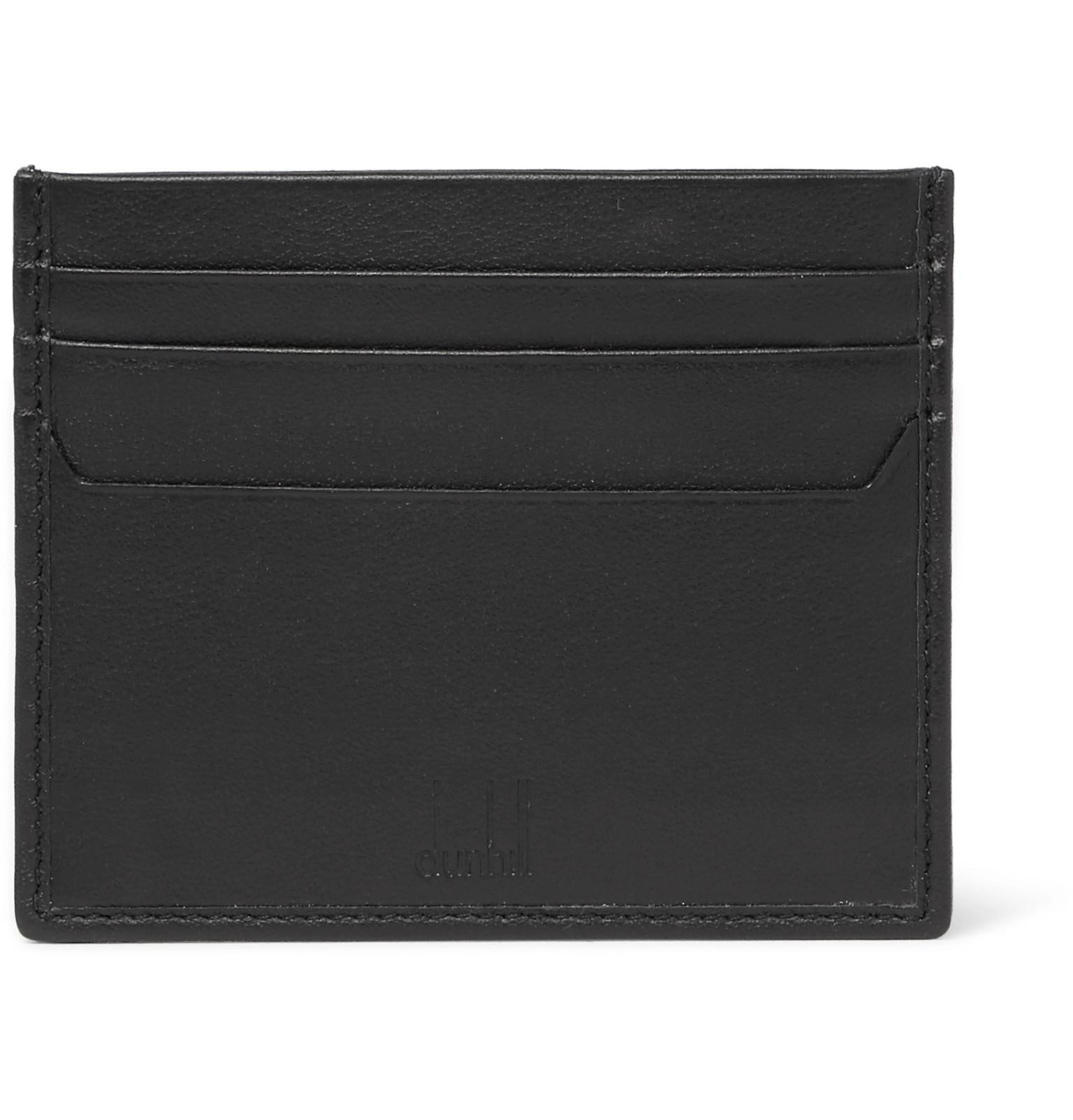 Dunhill Hampstead Leather Cardholder With Paypal For Sale ungEOJ