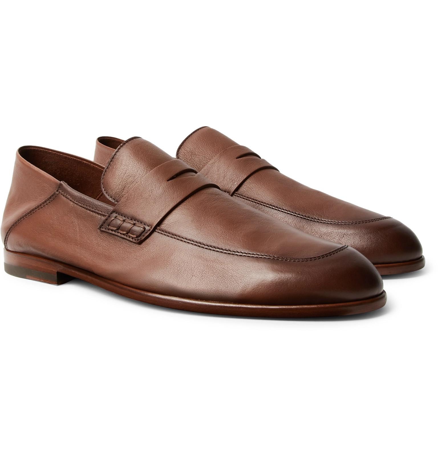 Mens Edward Leather Penny Loafers Harrys of London 7SSiFGzPC