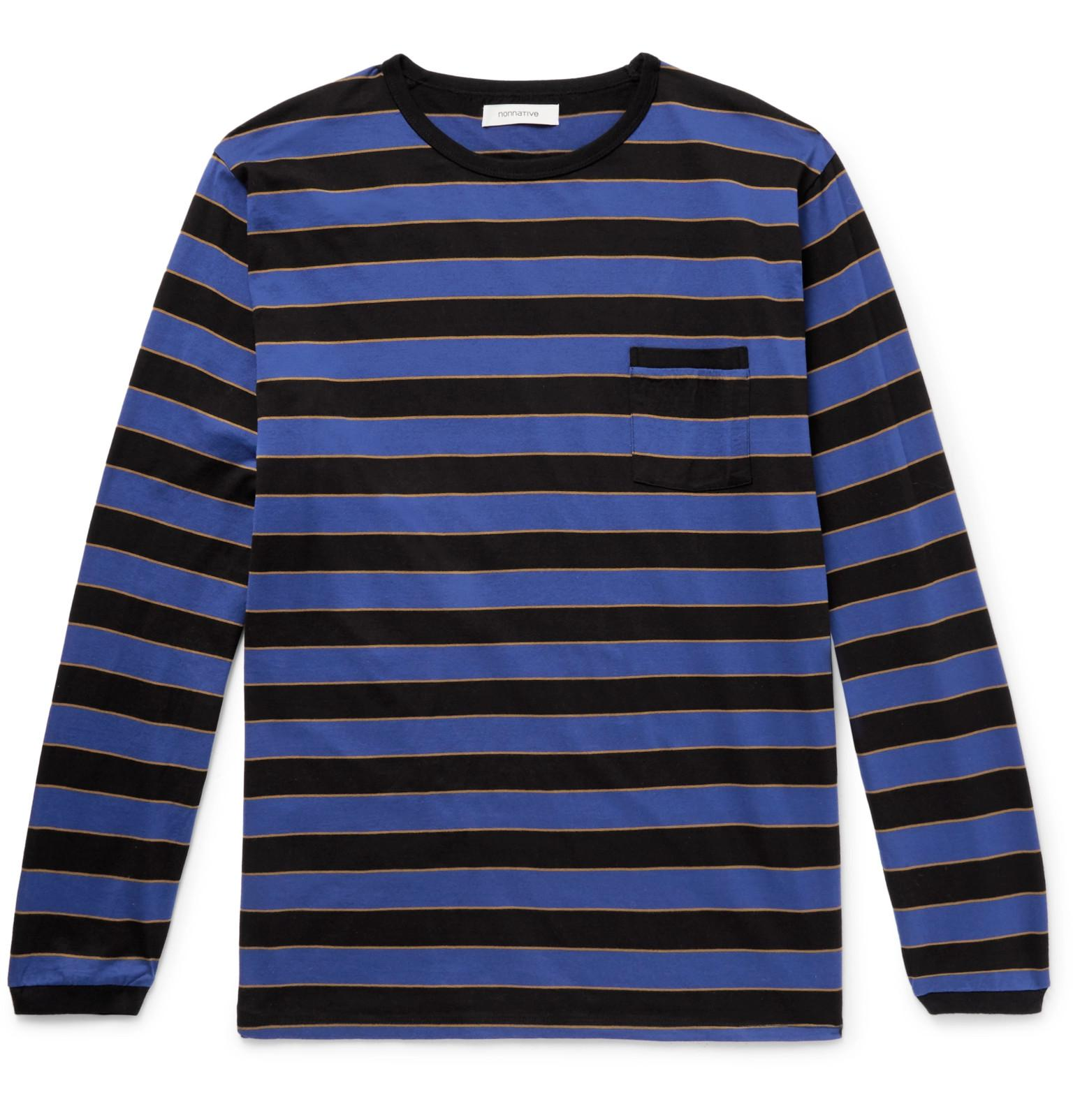 de a mangas Camiseta rayas algodón de sin jersey Nonnative gwWWqP4SU