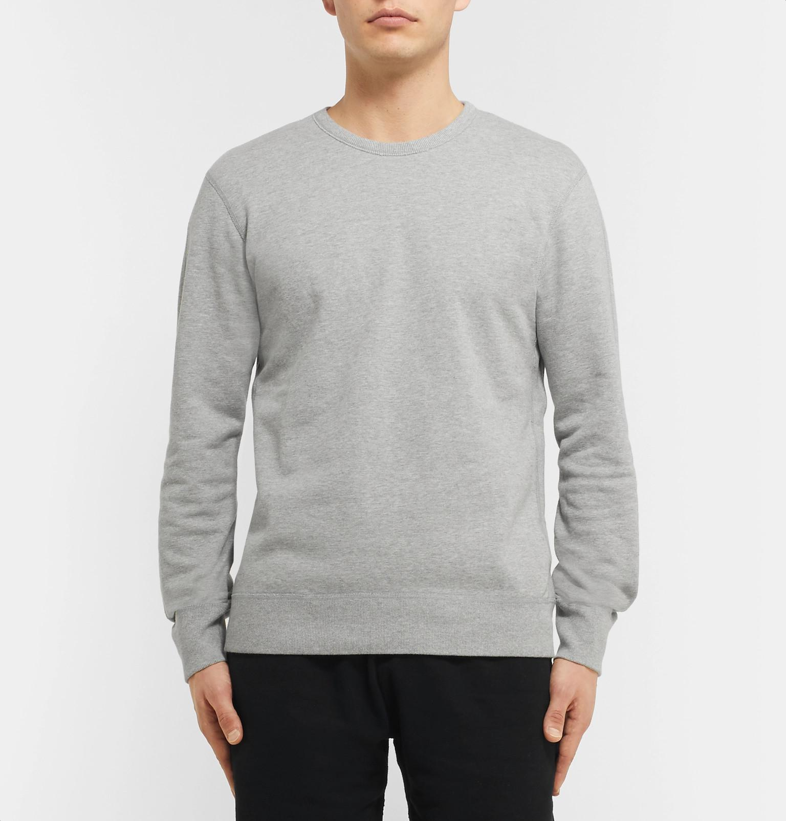 For Cotton View Champ Men Sweatshirt Lyst Fullscreen Reigning Gray Jersey Loopback xfnZYF