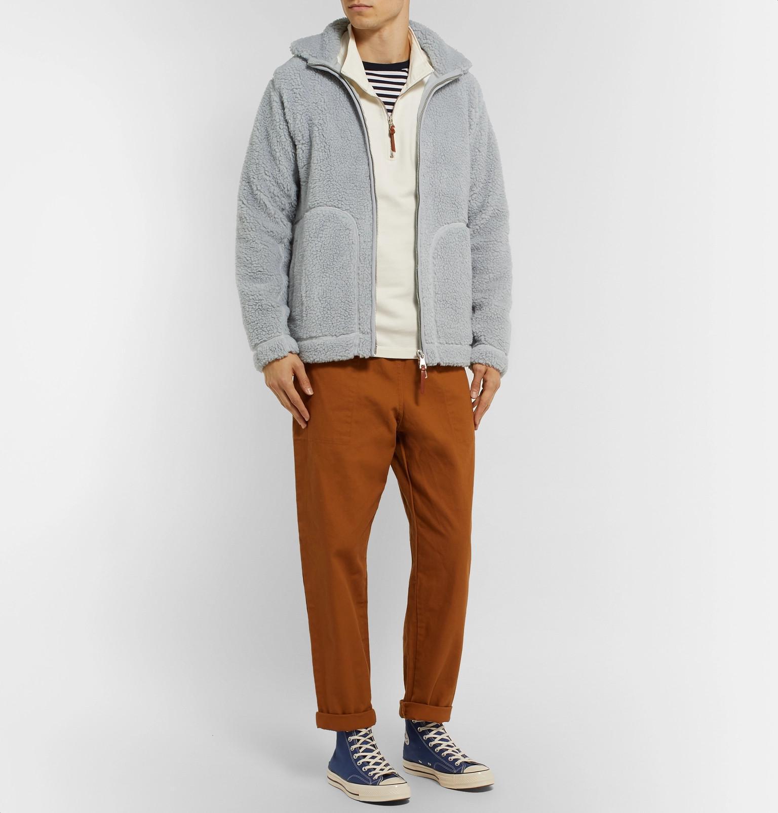 Gray Men For Jacket Fleece Albam Lyst In 8xYOwIq