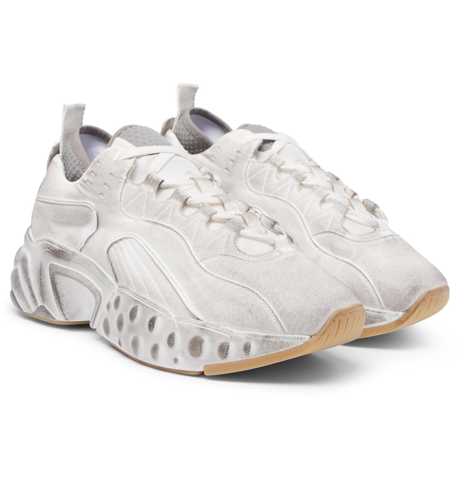 acne studios dirty sneaker off 50