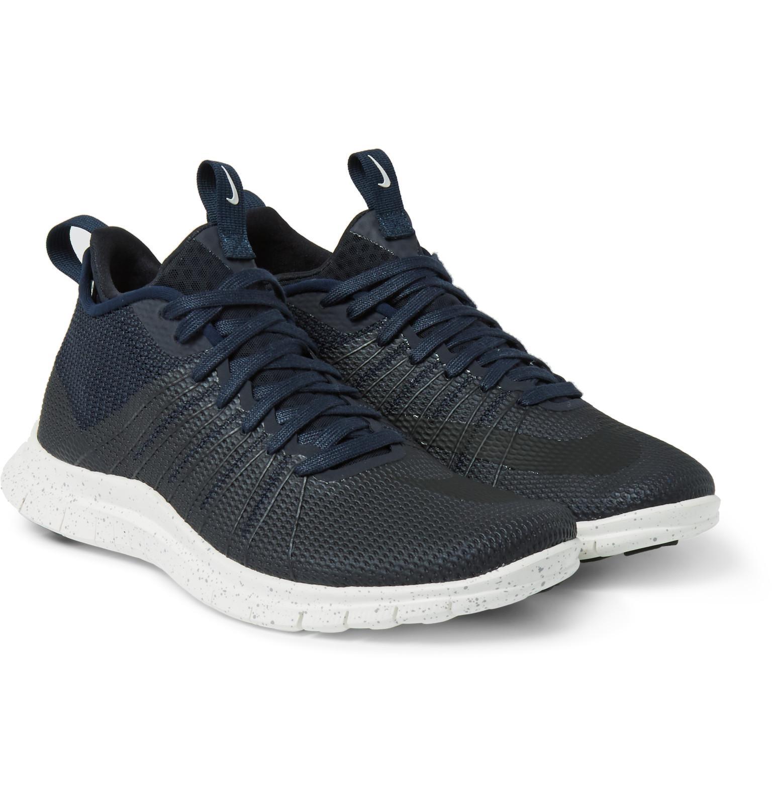 huge selection of b886f 10805 Lyst - Nike Free Hypervenom 2 Fs Coated Mesh Sneakers in Black for Men