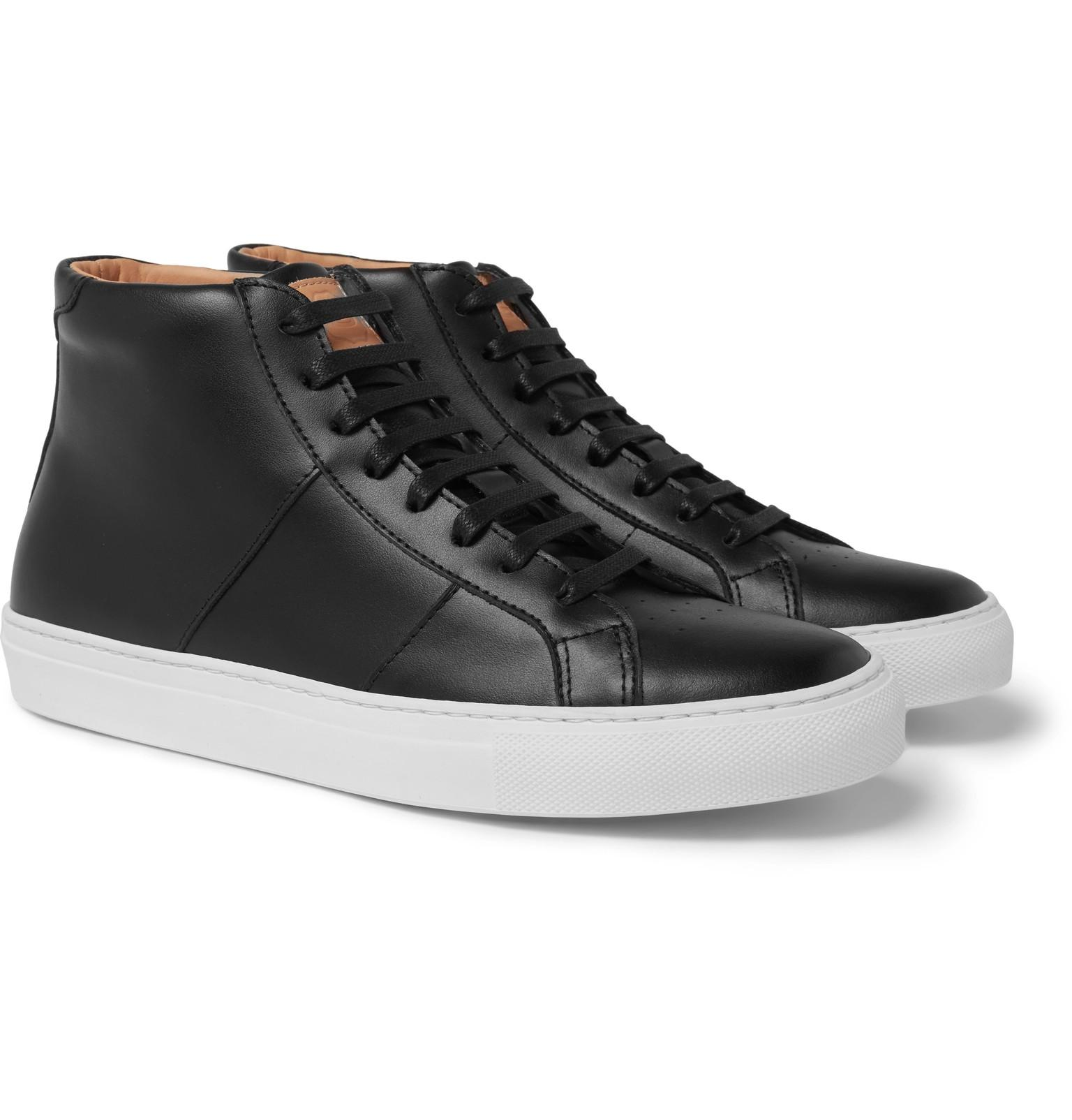 GREATS Leather Royale High Top Sneaker