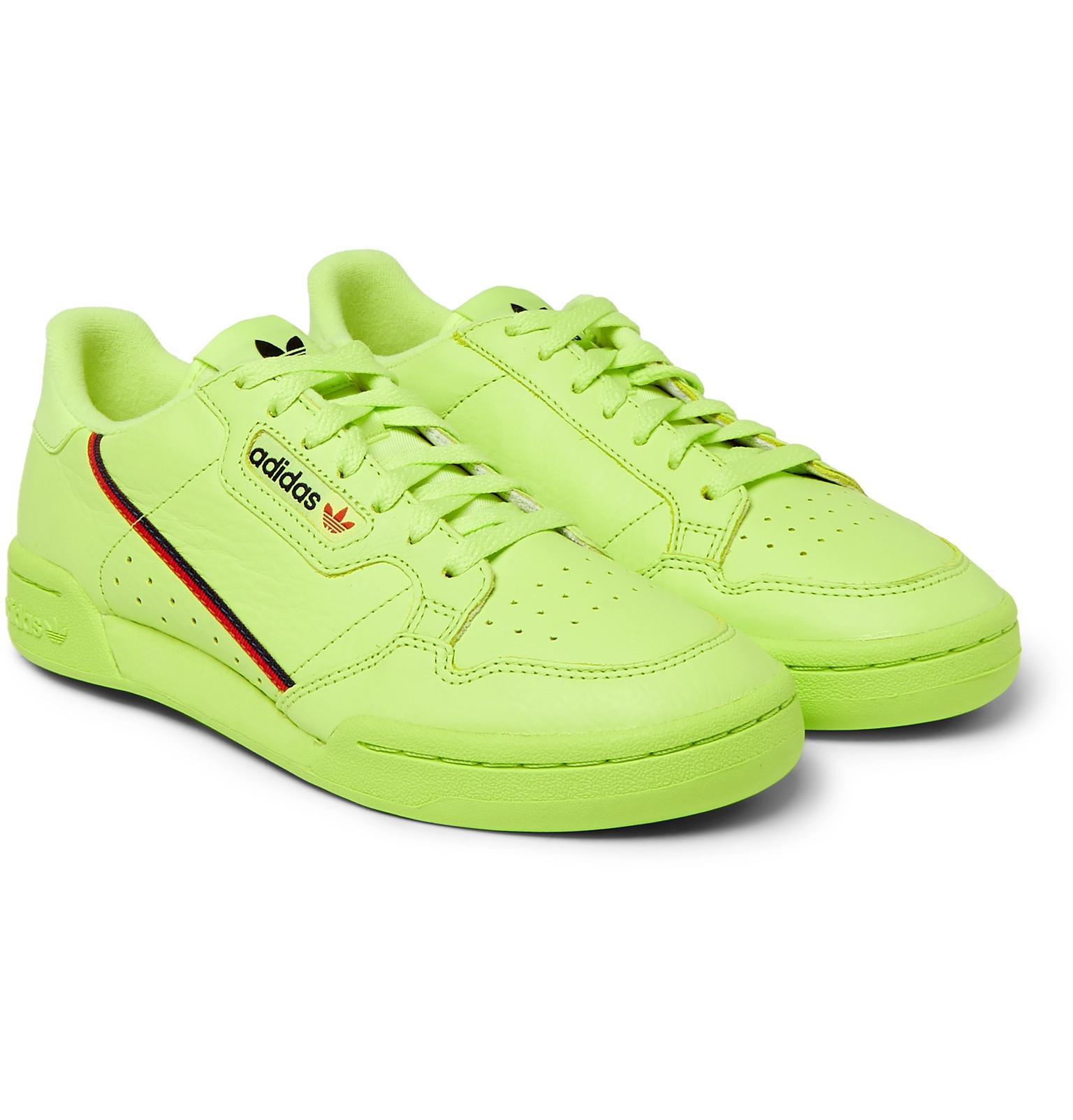 newest 4b8ca debc7 adidas Originals. Mens Green Continental 80 ...