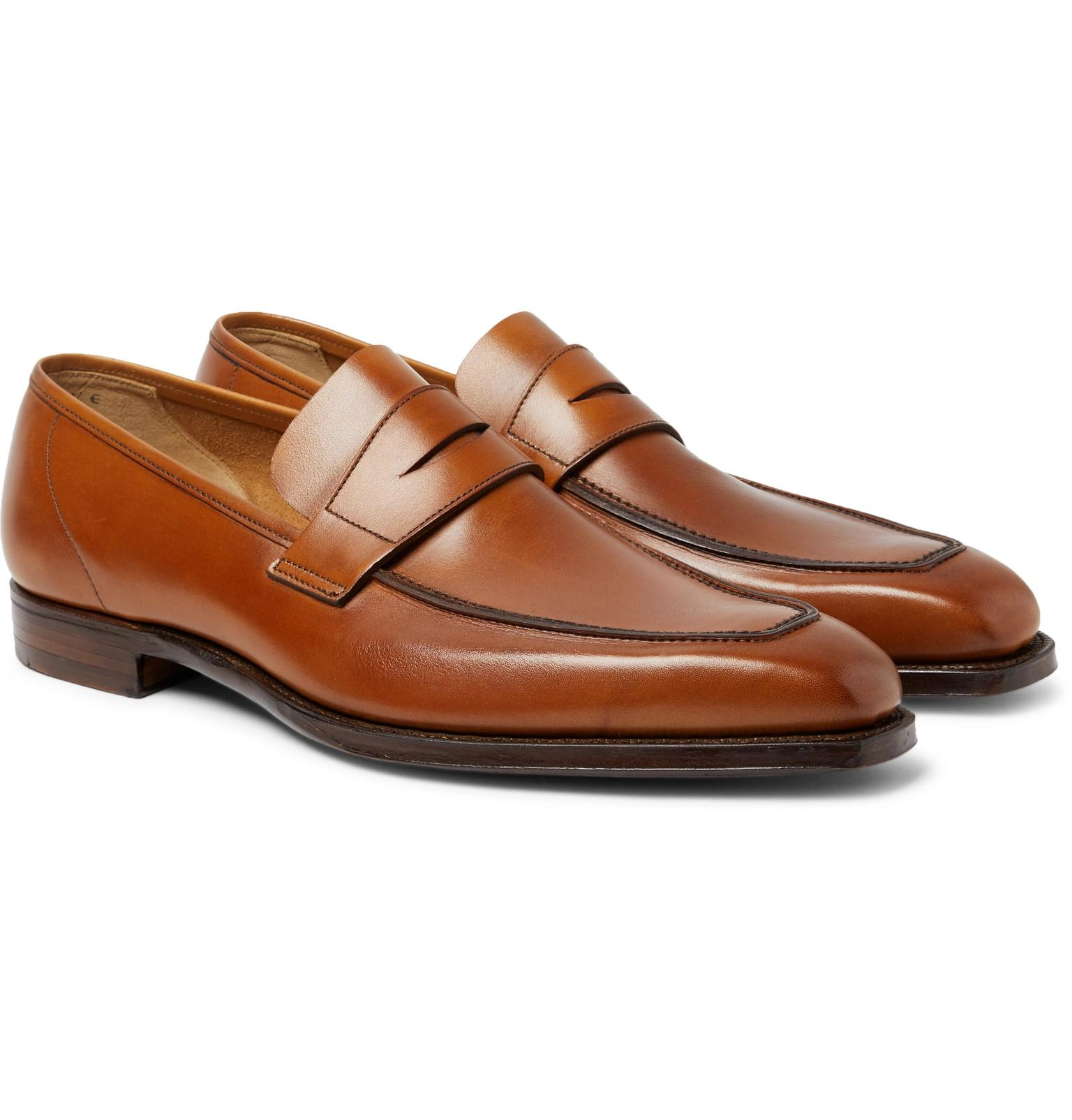 Thomas Leather Monk-strap Shoes - BrownGeorge Cleverley hfY2aAIq