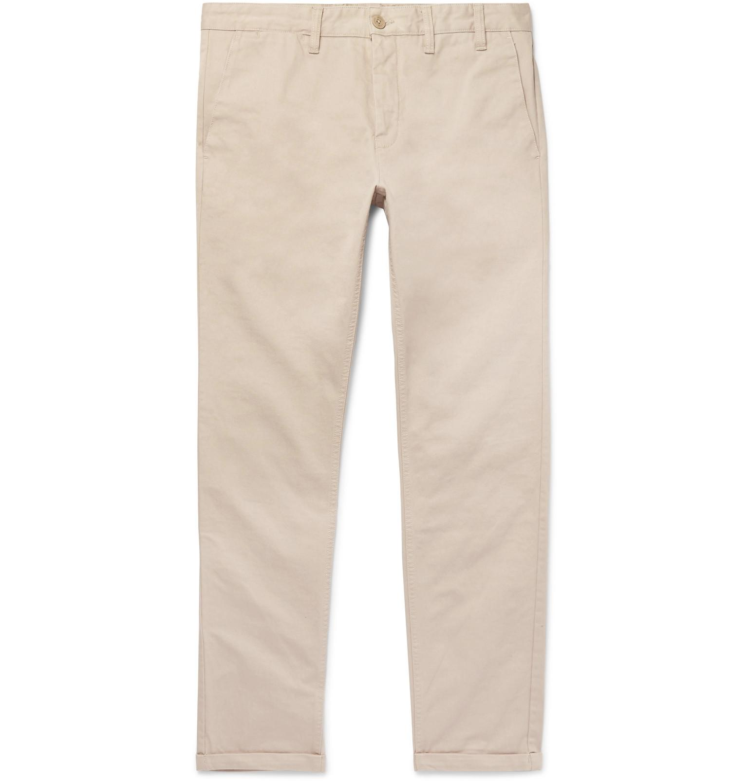 Aros Cotton-drill Chinos Norse Projects BQwnujxQN