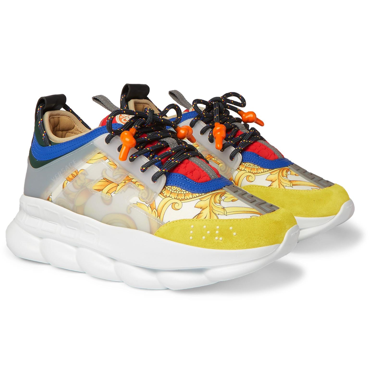 Versace Rubber Chain Reaction Panelled