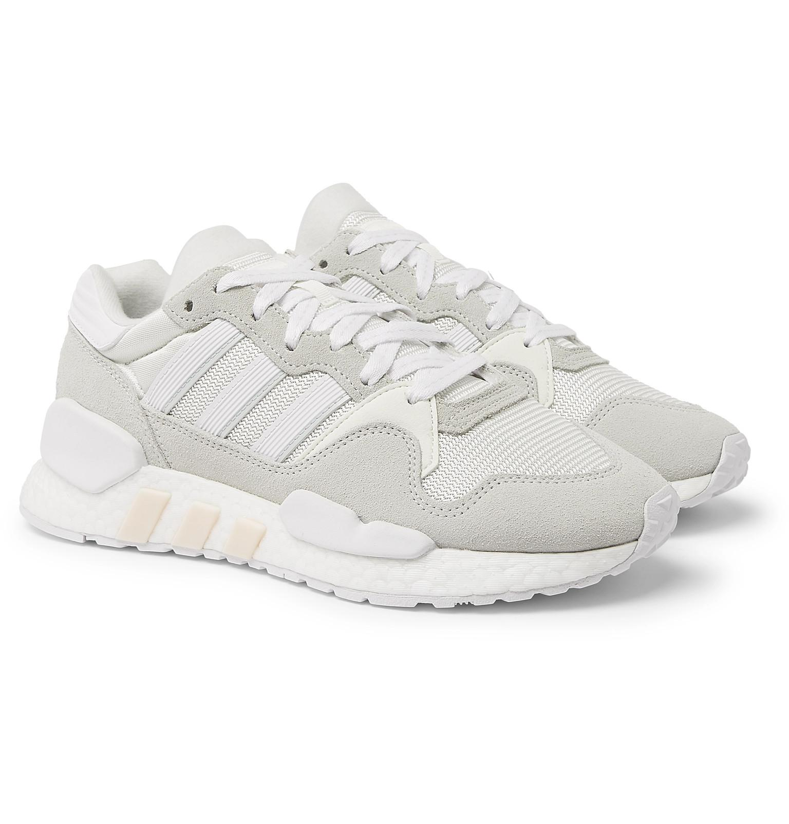 finest selection c614b a45d7 adidas Originals Zx 930 X Eqt Mesh And Suede Sneakers in ...