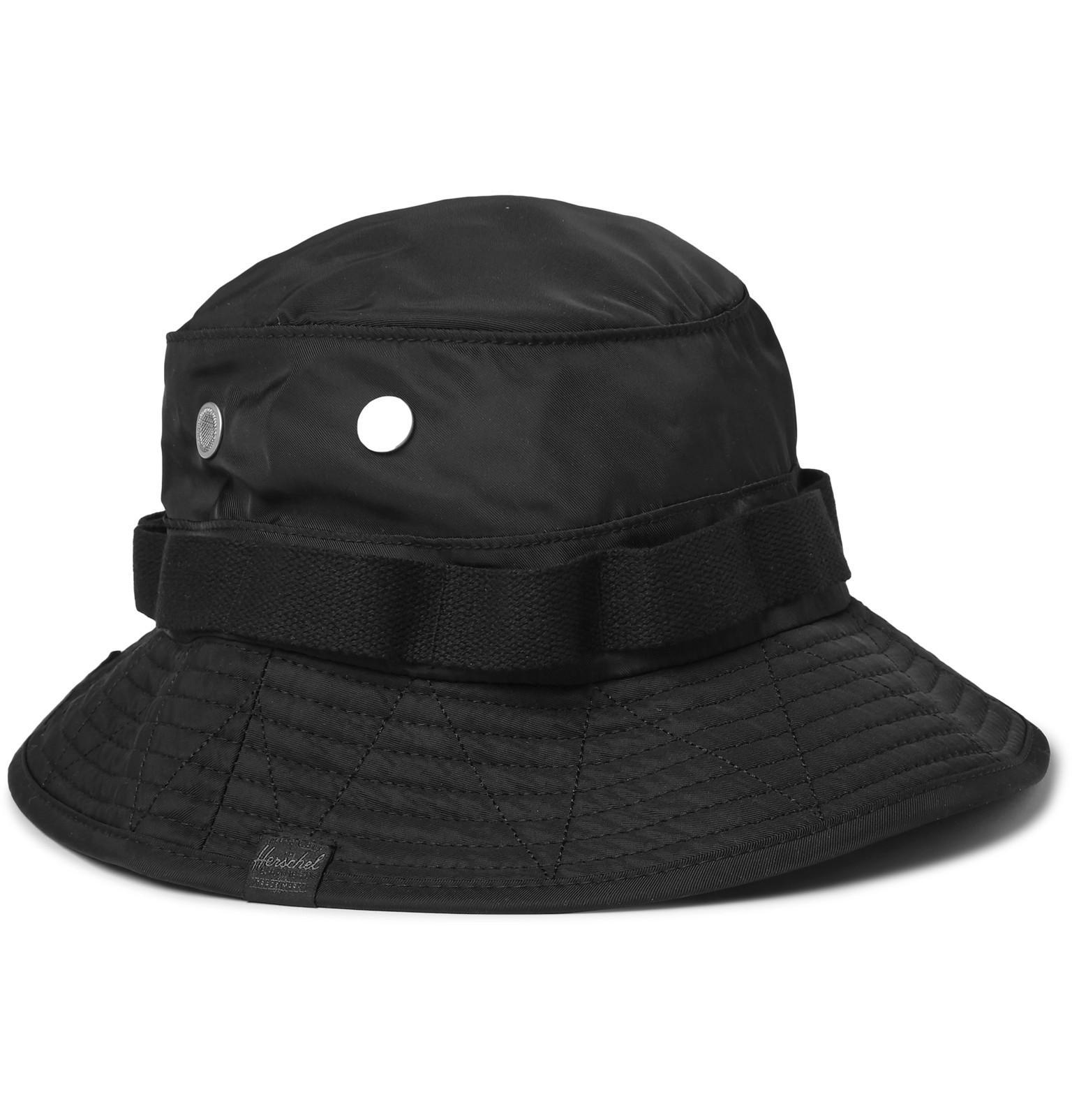 Lyst - Herschel Supply Co. Creek Shell Bucket Hat in Black for Men 00c4abec82ad