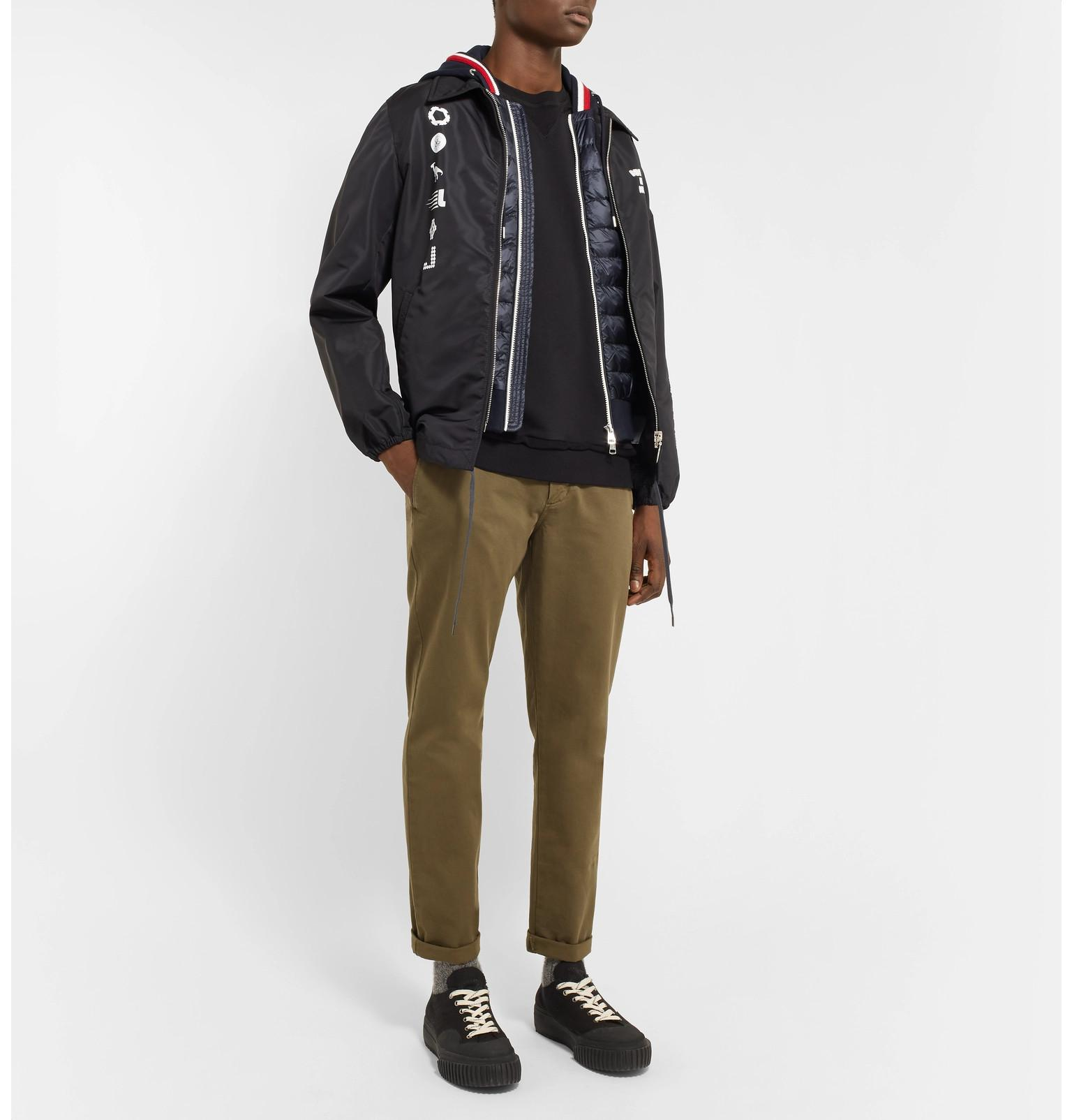 af308bbeb moncler-navy-Slim-fit-Quilted-Shell-And-Loopback-Cotton-jersey -Hooded-Gilet.jpeg