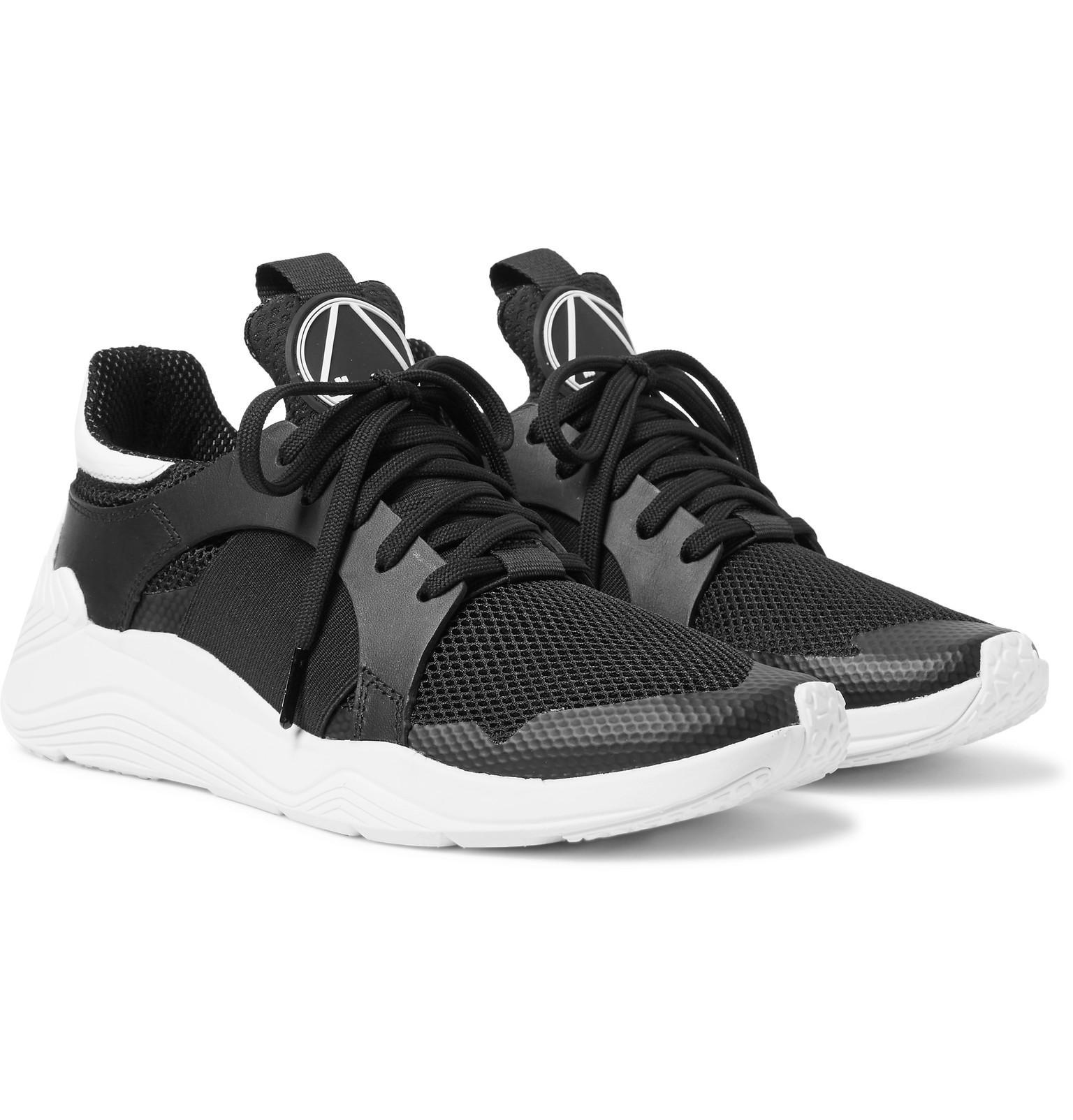Raf Simons Black Gishiki High-Top Sneakers RUsoR