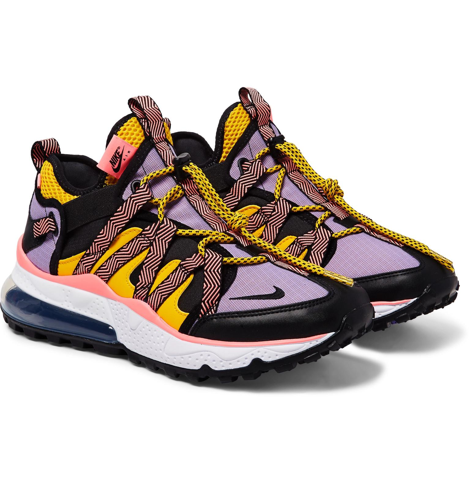 new style de13b c32f8 Nike Multicolor Air Max 270 Bowfin Mesh And Nylon Sneakers for men