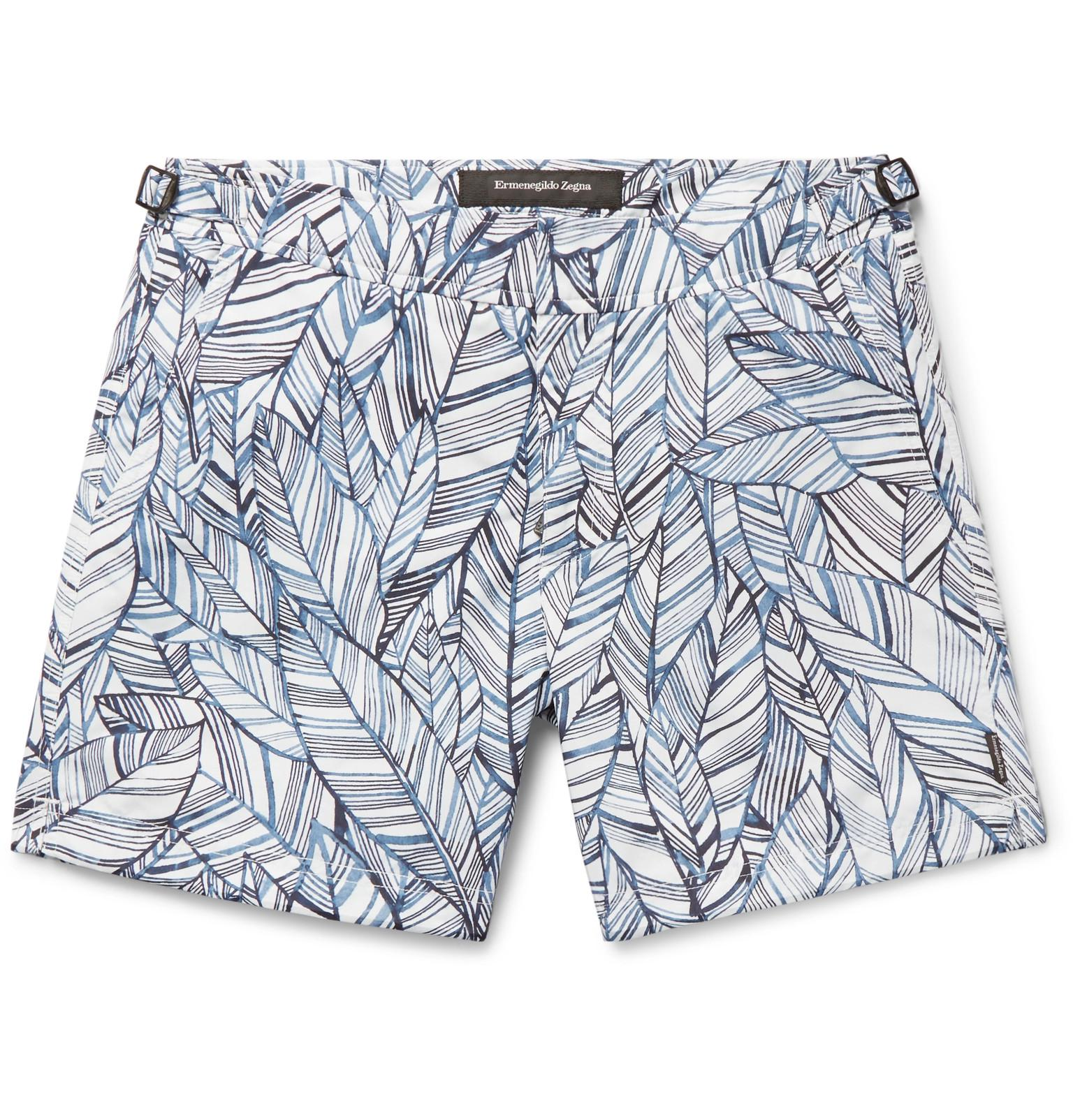 Slim-fit Mid-length Printed Swim Shorts Ermenegildo Zegna Sale Cheap Sale Visa Payment Discount Official Discount In China With Mastercard Cheap Online Cz0grzeK
