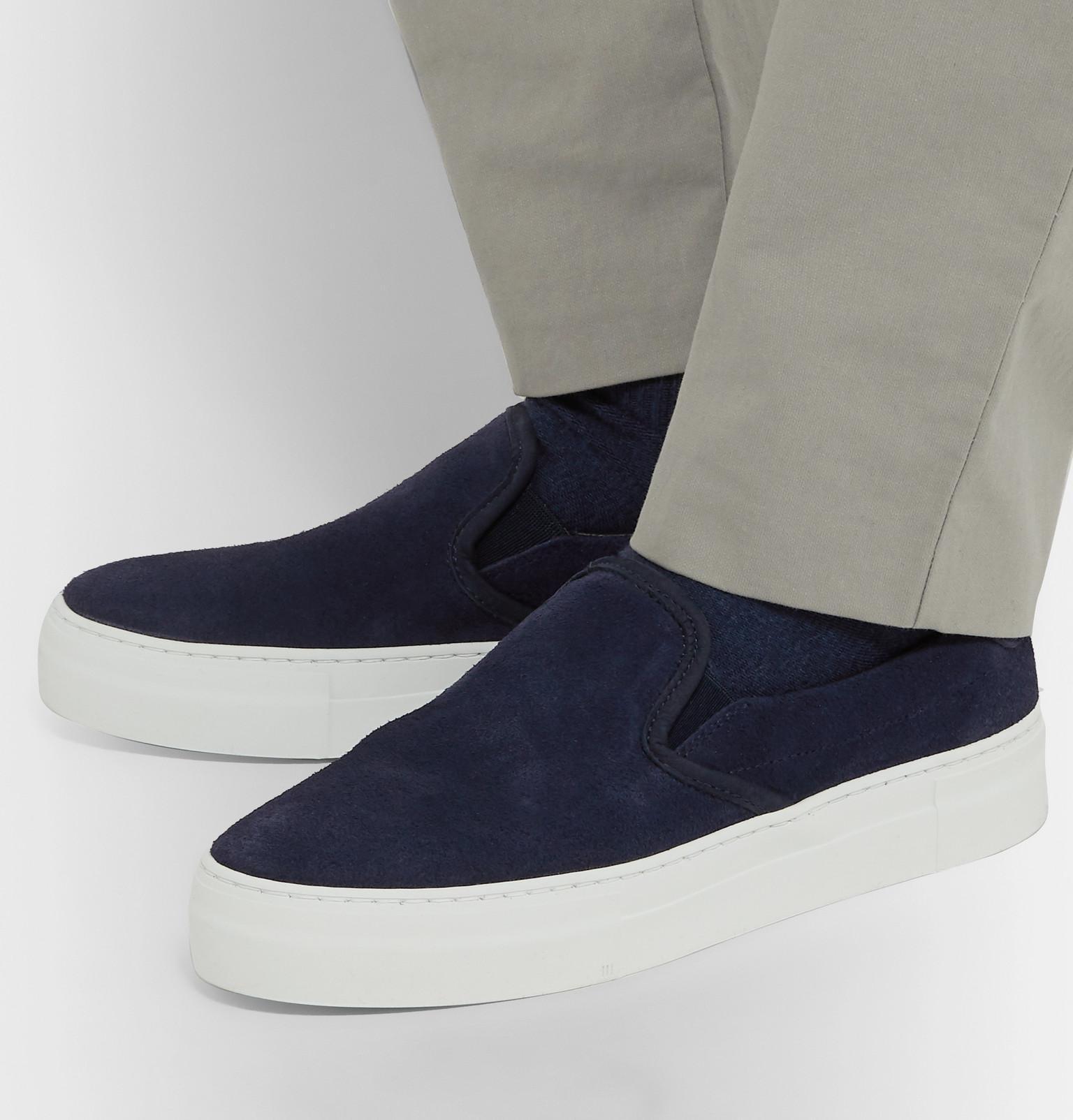 Diemme Leather Garda Slip On in Navy (Blue) for Men - Save 55%
