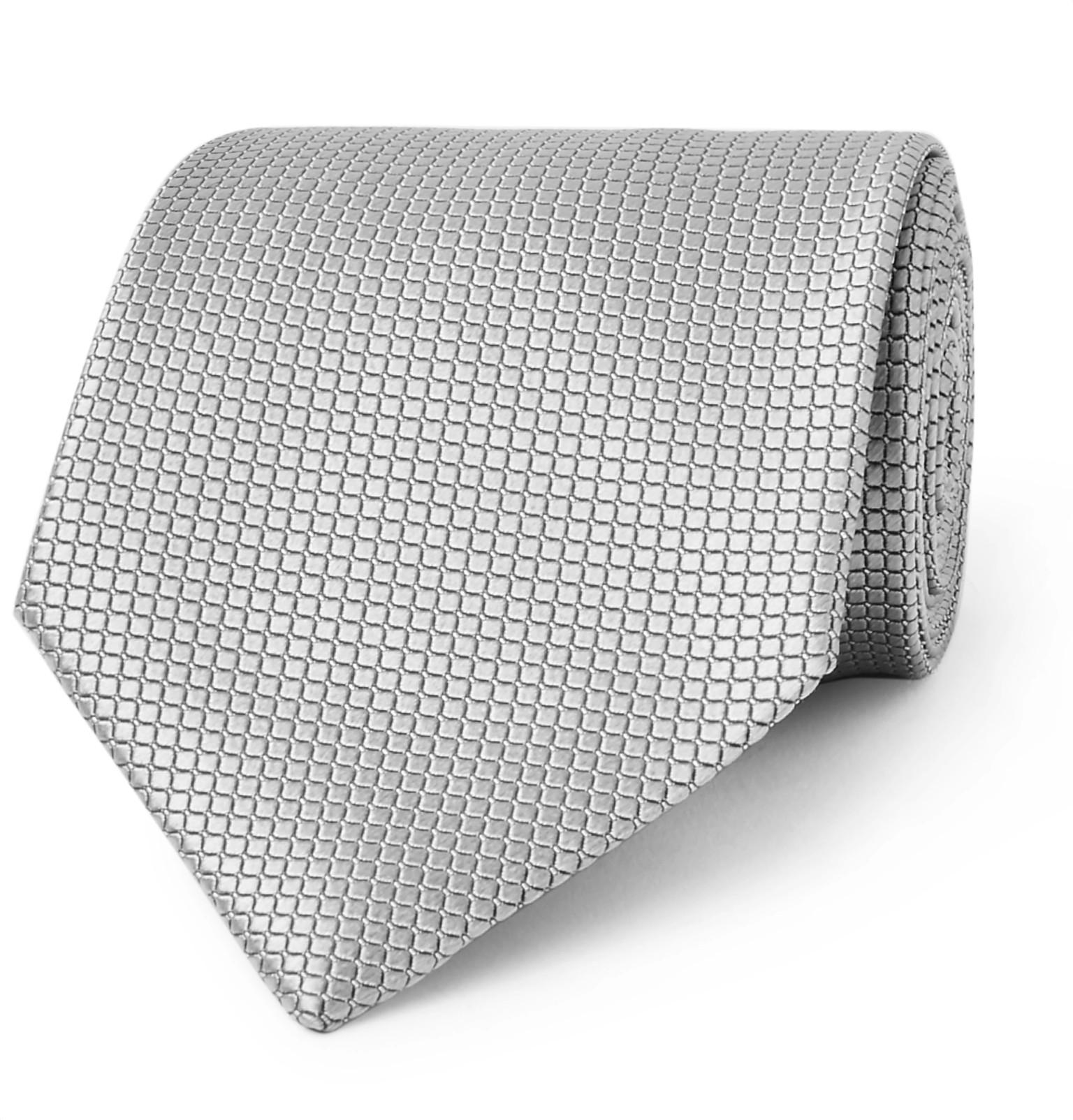 7cm Texture Soie Cravate Ermenegildo Zegna vX7eH40NI6
