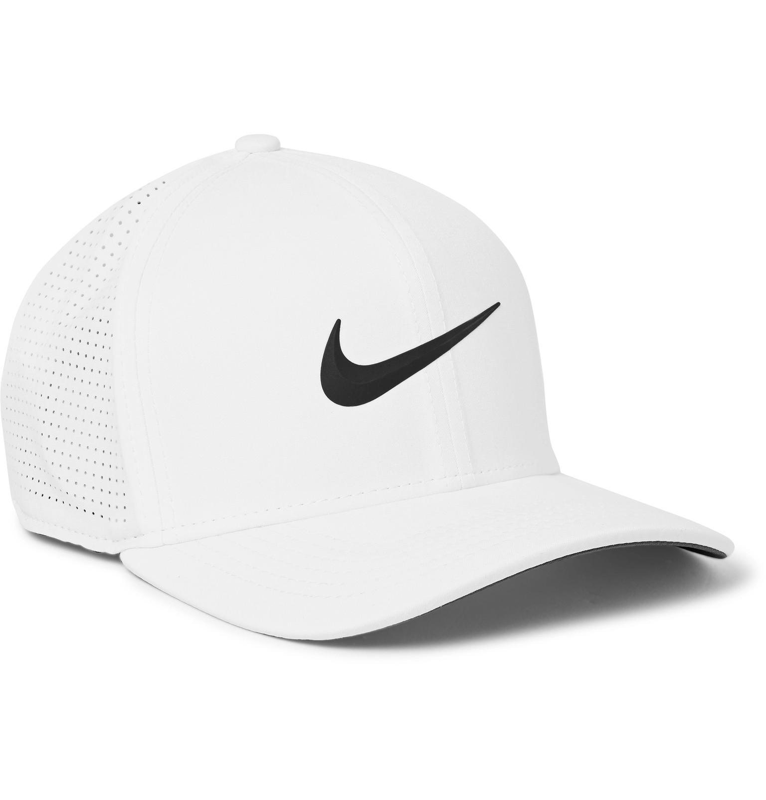 bf1cf000c3b Nike Aerobill Classic 99 Perforated Dri-fit Golf Cap in White for ...