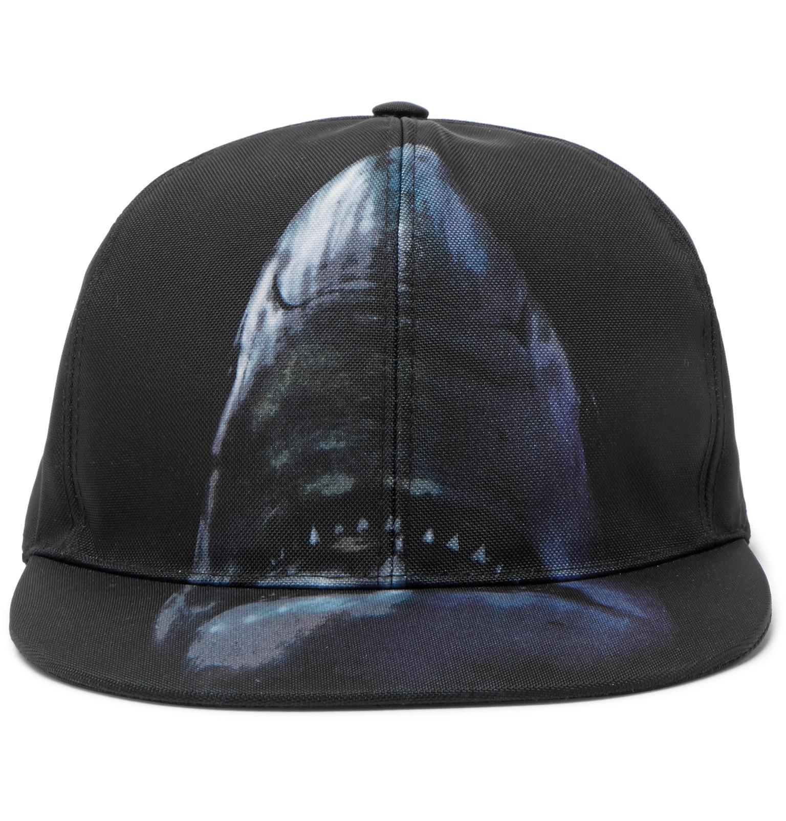 Givenchy Shark-print Canvas Baseball Cap in Black for Men - Lyst 729290050cc