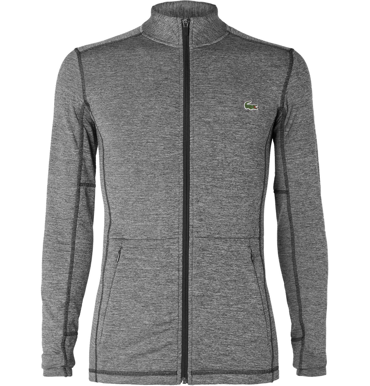 5a7247b28112f2 Lyst - Lacoste Sport Novak Djokovic Stretch-jersey Zip-up Jacket in ...