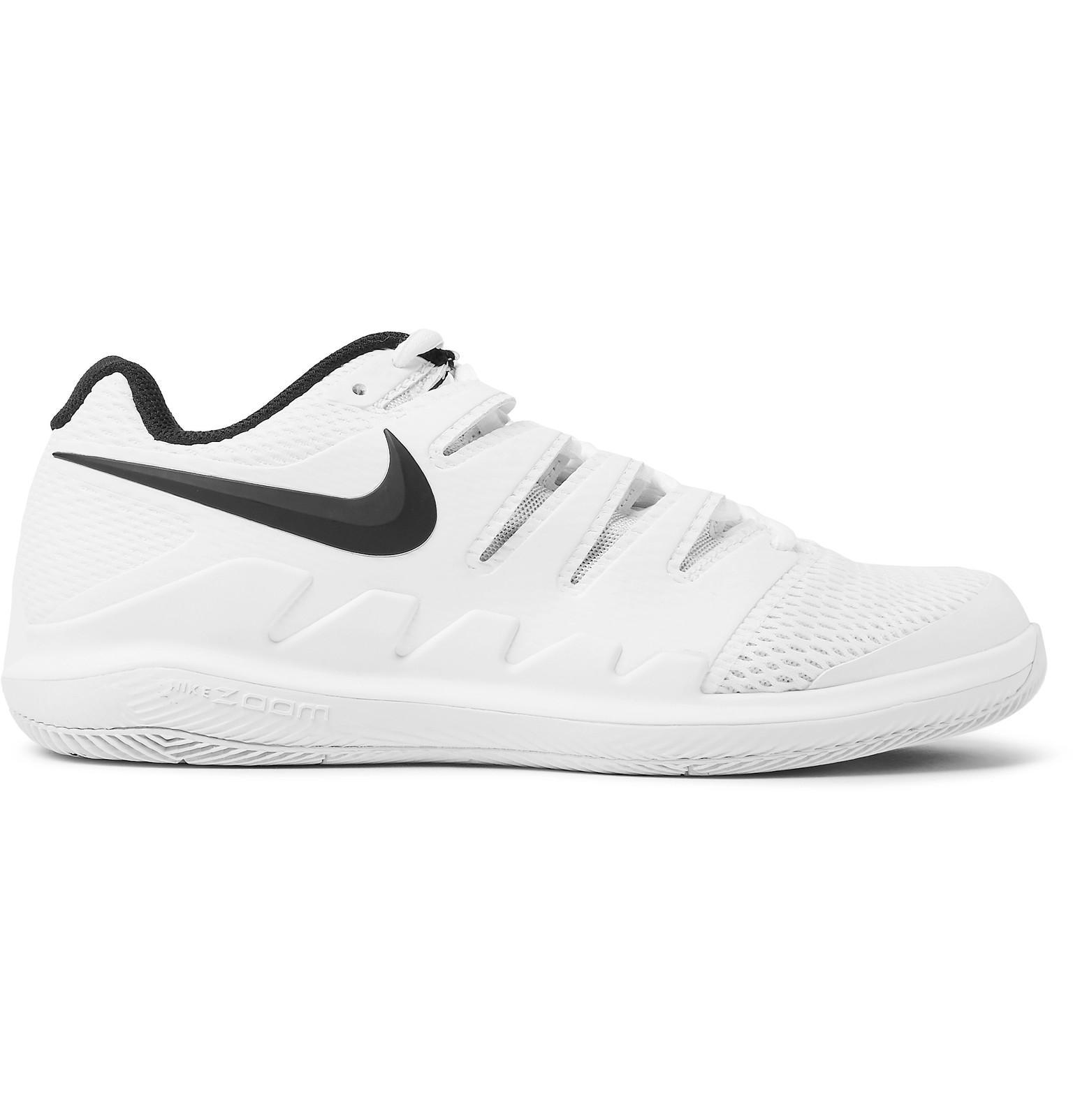 Air Zoom Prestige Rubber-trimmed Mesh Tennis Sneakers Nike vqnSX