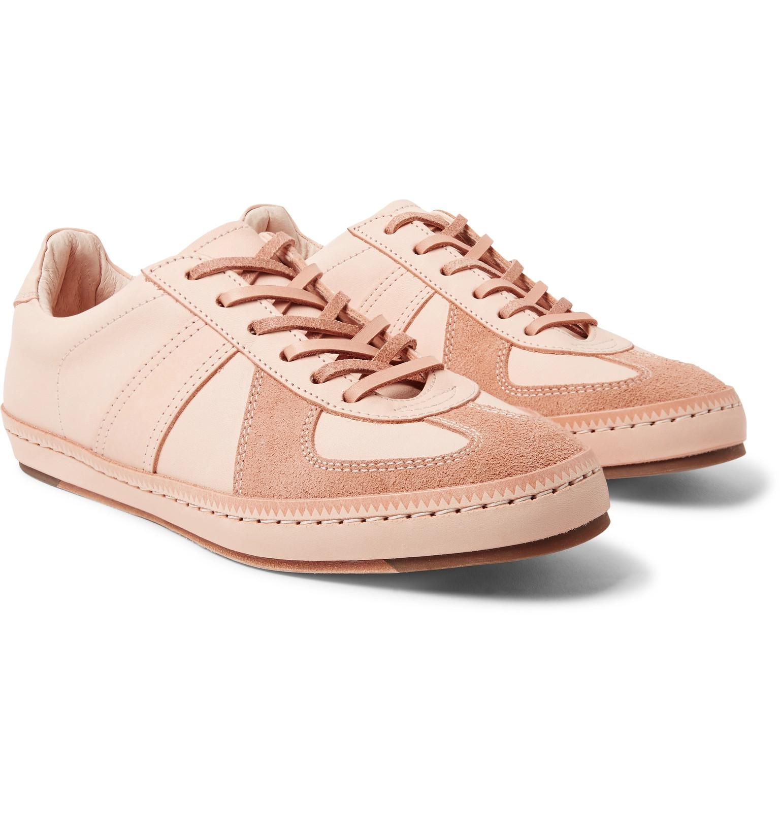 9f181487c Hender Scheme Mip-05 Suede-trimmed Leather Sneakers in Natural for ...