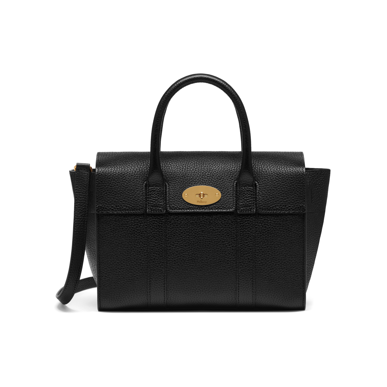 d71b33f2fa0a ... wholesale mulberry black small bayswater satchel bag lyst. view  fullscreen eaf16 b9b74