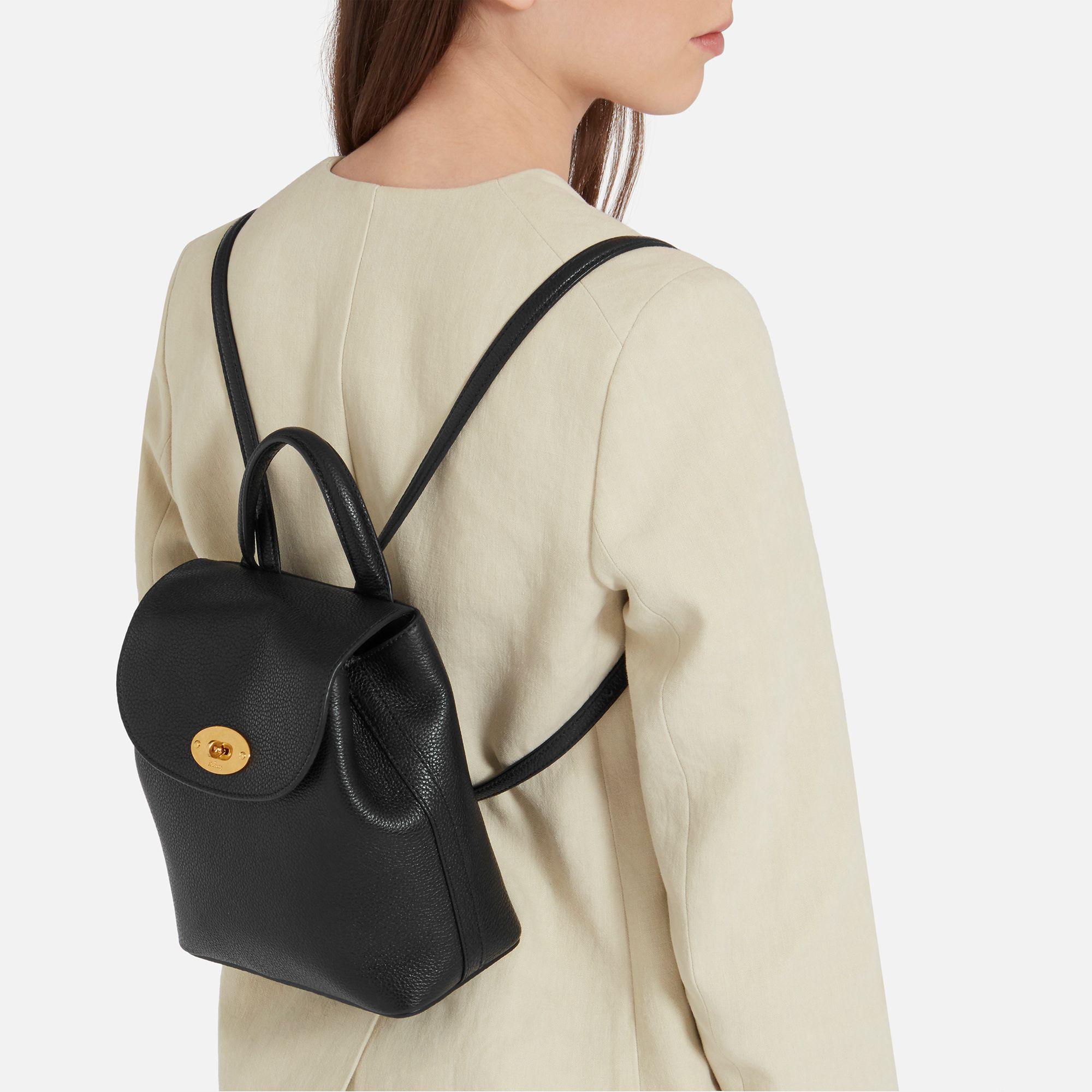 ... netherlands mulberry black mini bayswater backpack lyst. view  fullscreen ba899 2c334 ... ba753e6de8