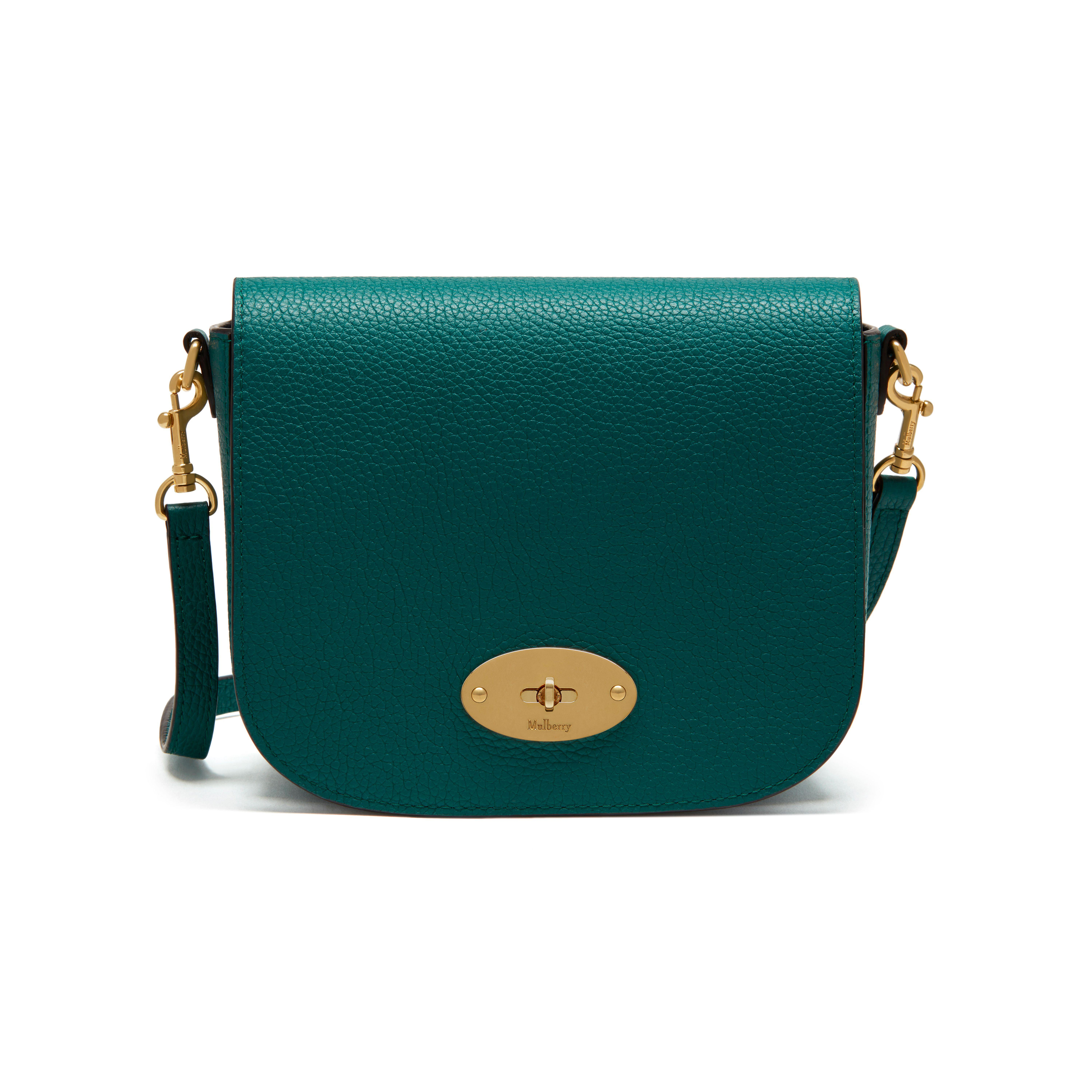f6f900488e1 ... bayswater grained leather tote 01b53 0b31f top quality mulberry small  darley satchel in green lyst a38ad ef0c4 ...