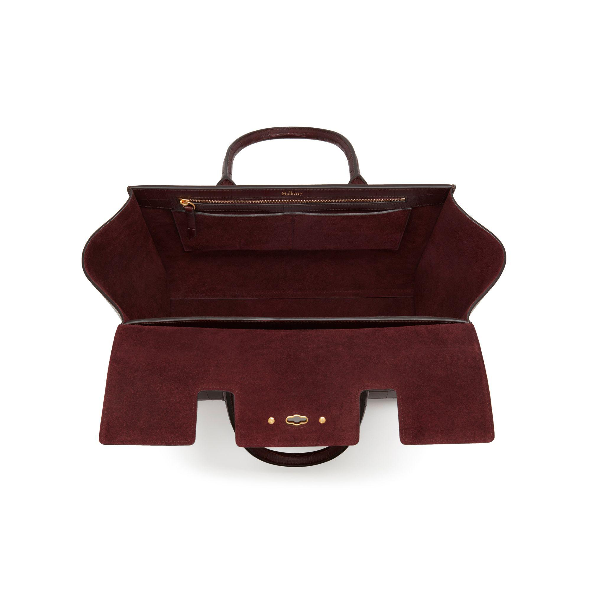 33f172af5b Mulberry Bayswater With Strap - Lyst