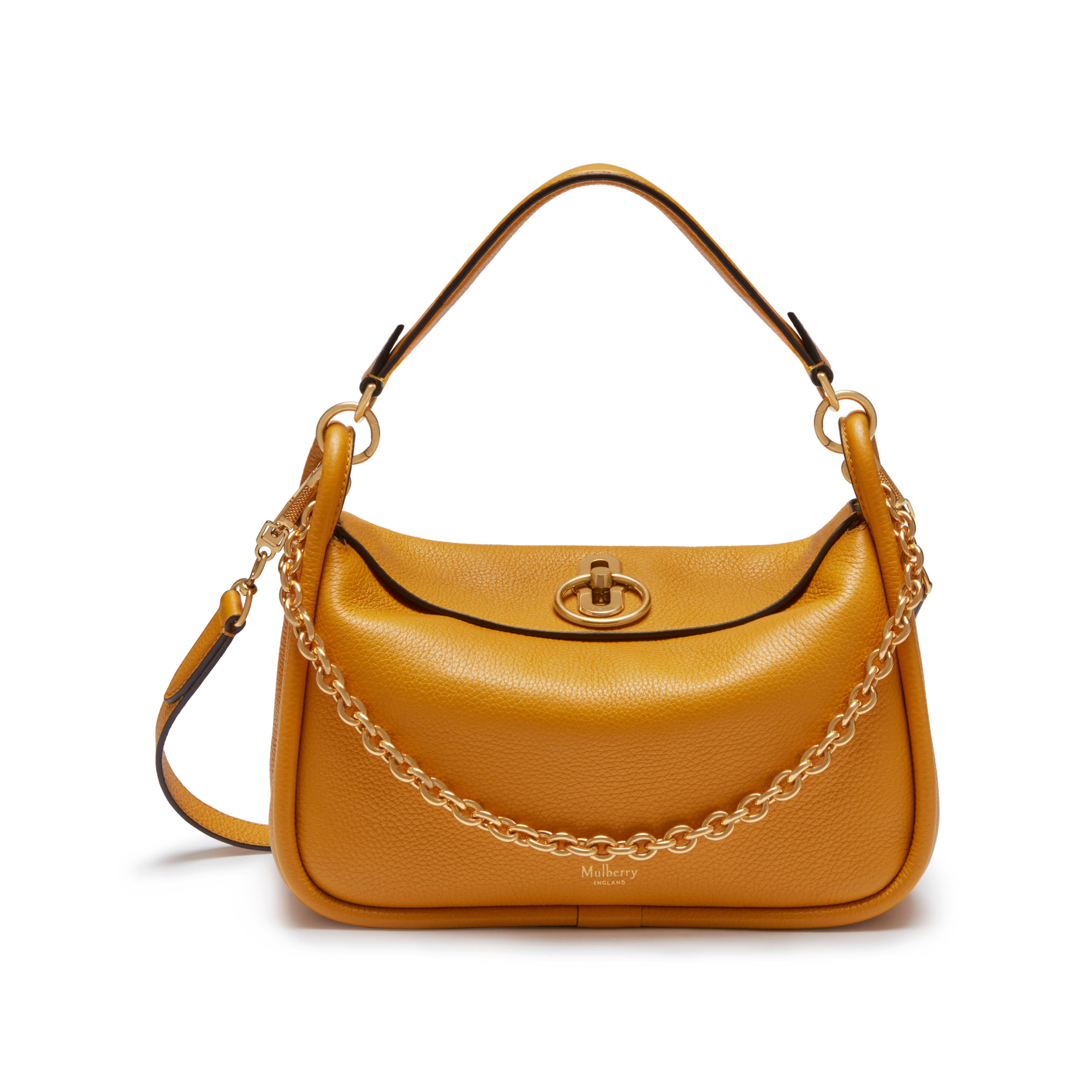 19b7c20b8b0 Mulberry Small Leighton in Brown - Lyst