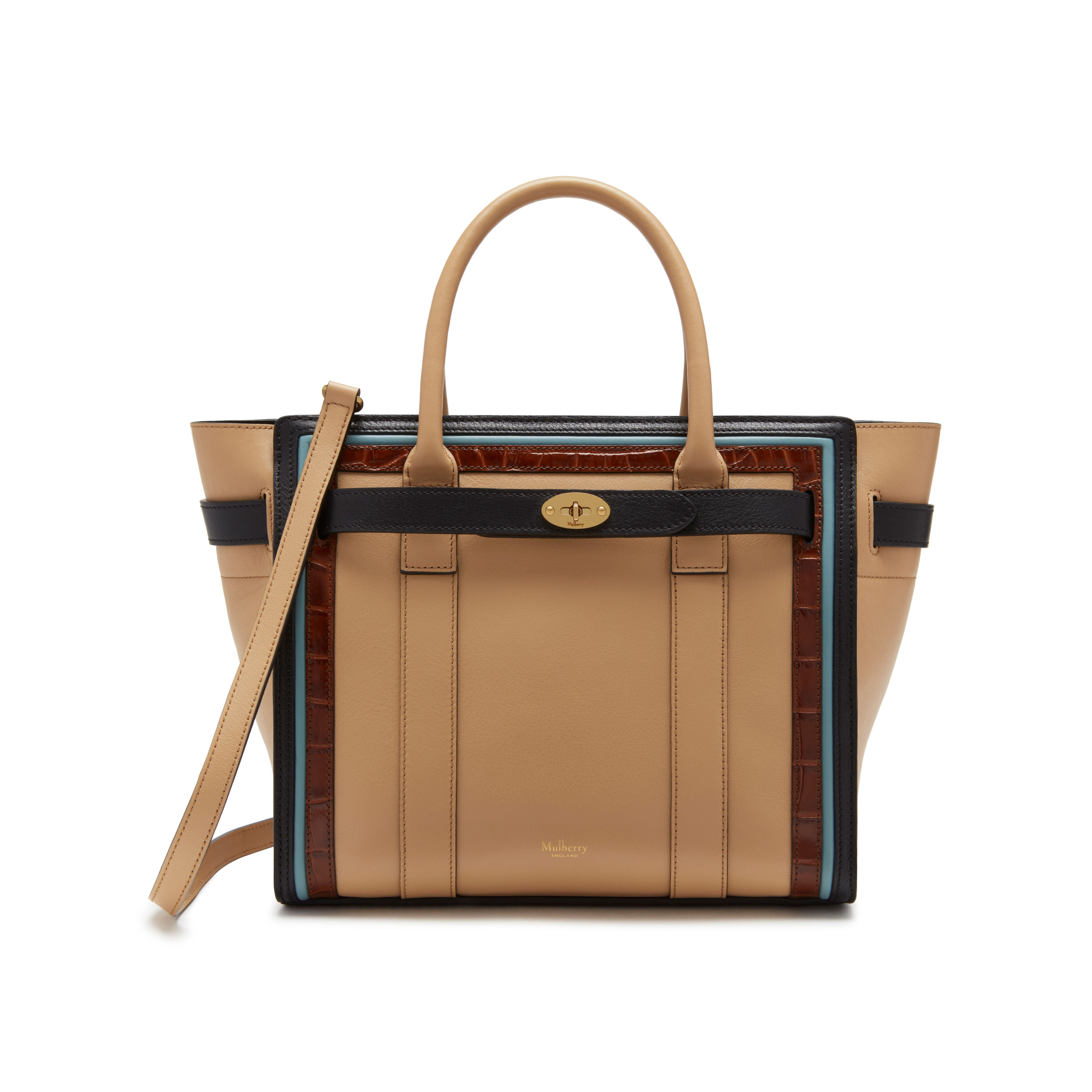 Lyst - Mulberry Small Zipped Bayswater in Black 957ee5e5c0