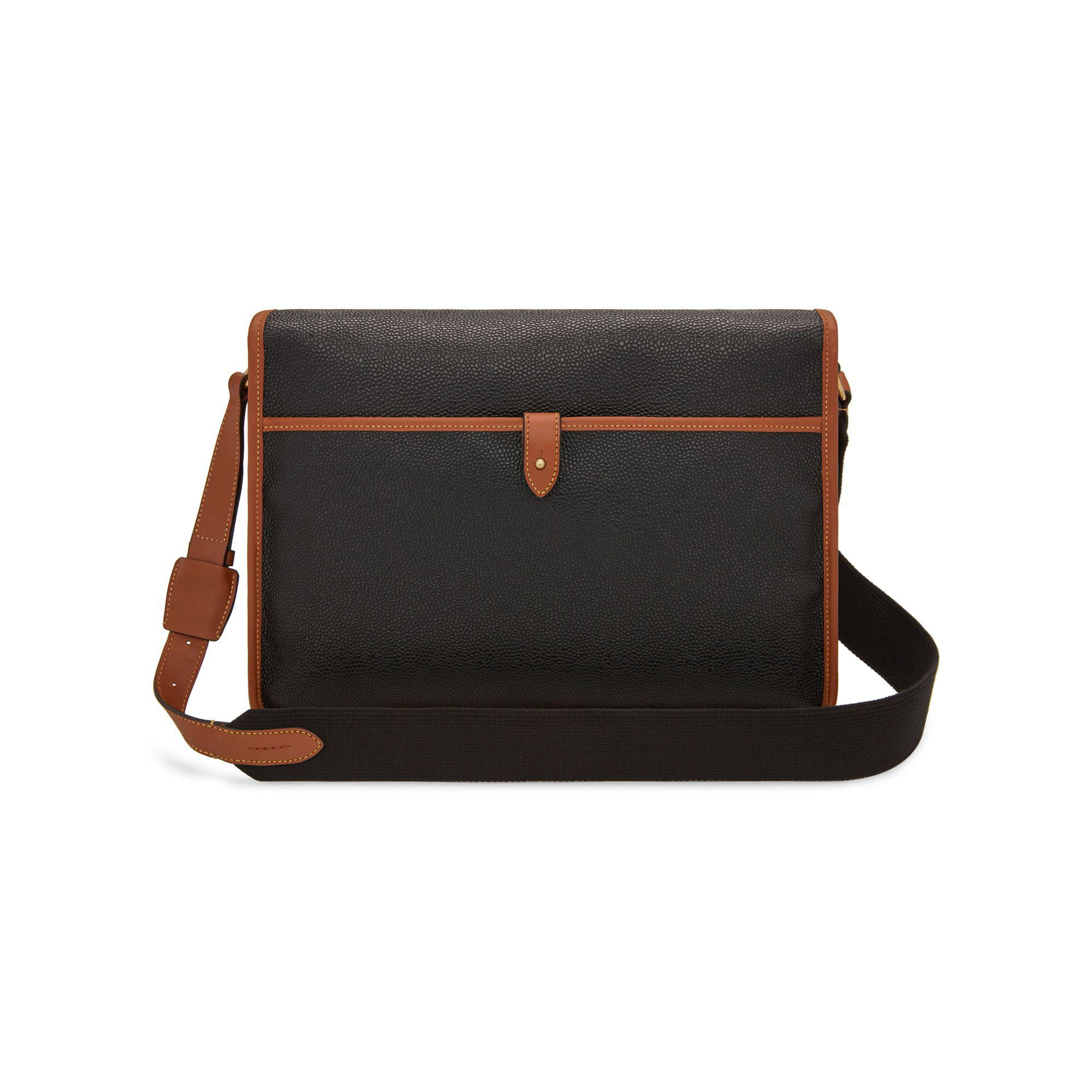 ... discount mulberry black heritage messenger for men lyst. view  fullscreen dbddc 3cb13 f80334dd05586