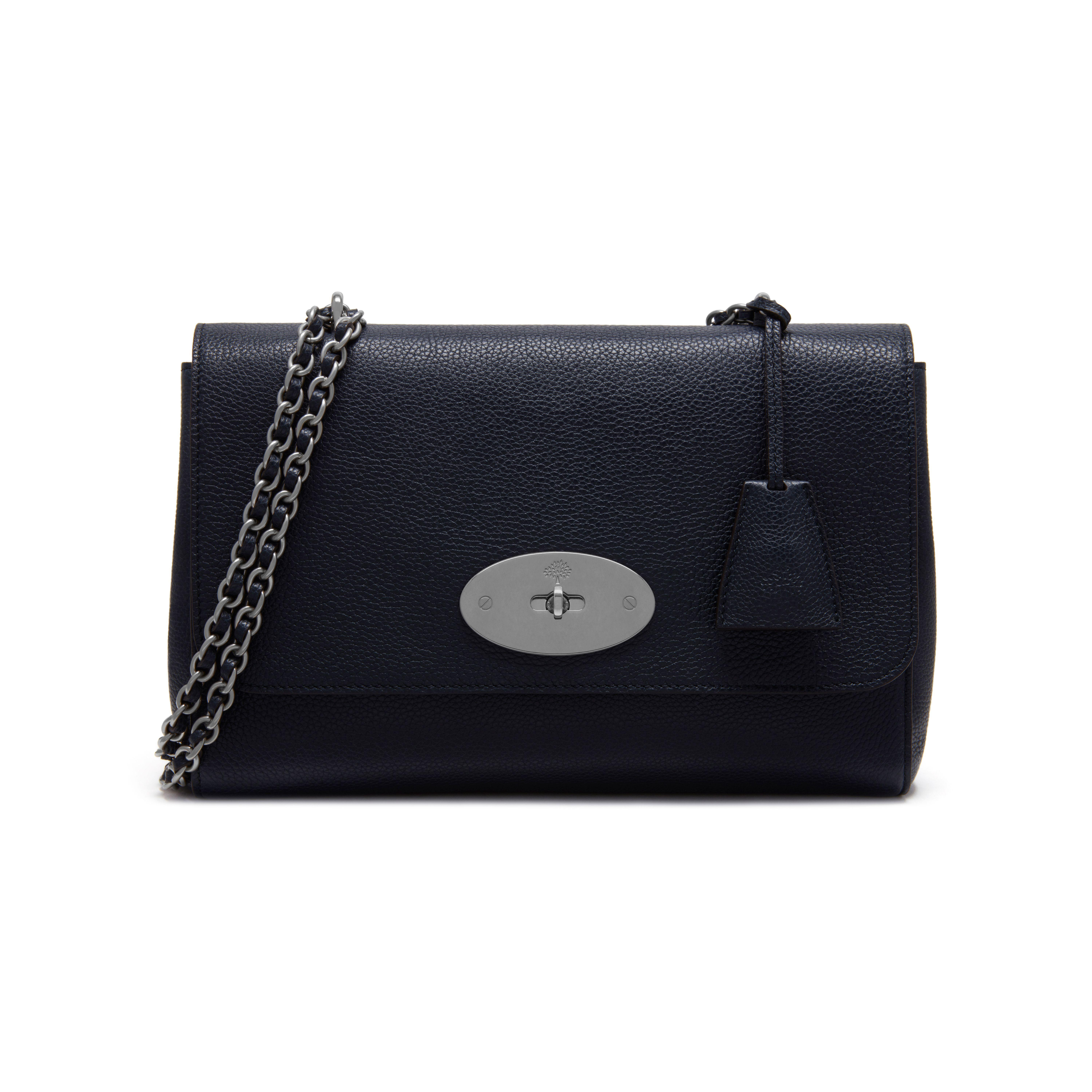 a406ee488916 ... order lyst mulberry lily shoulder bag in blue 9ebbe dffc2 ...