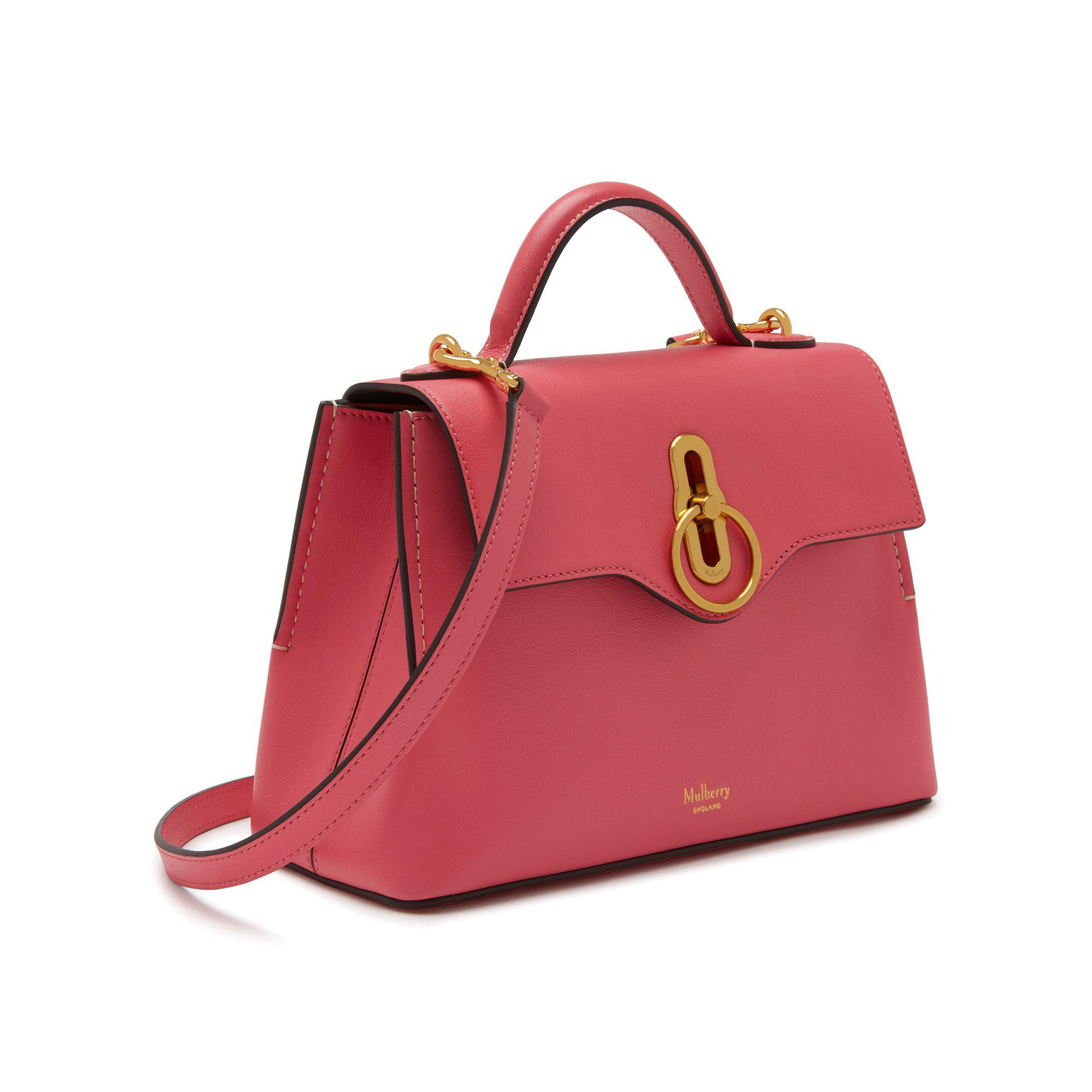 Lyst - Mulberry Mini Seaton in Pink 8c91f13c7d0ae