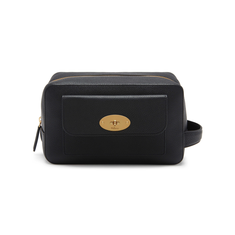 Lyst - Mulberry Postman s Lock Wash Case in Black c7522f445d
