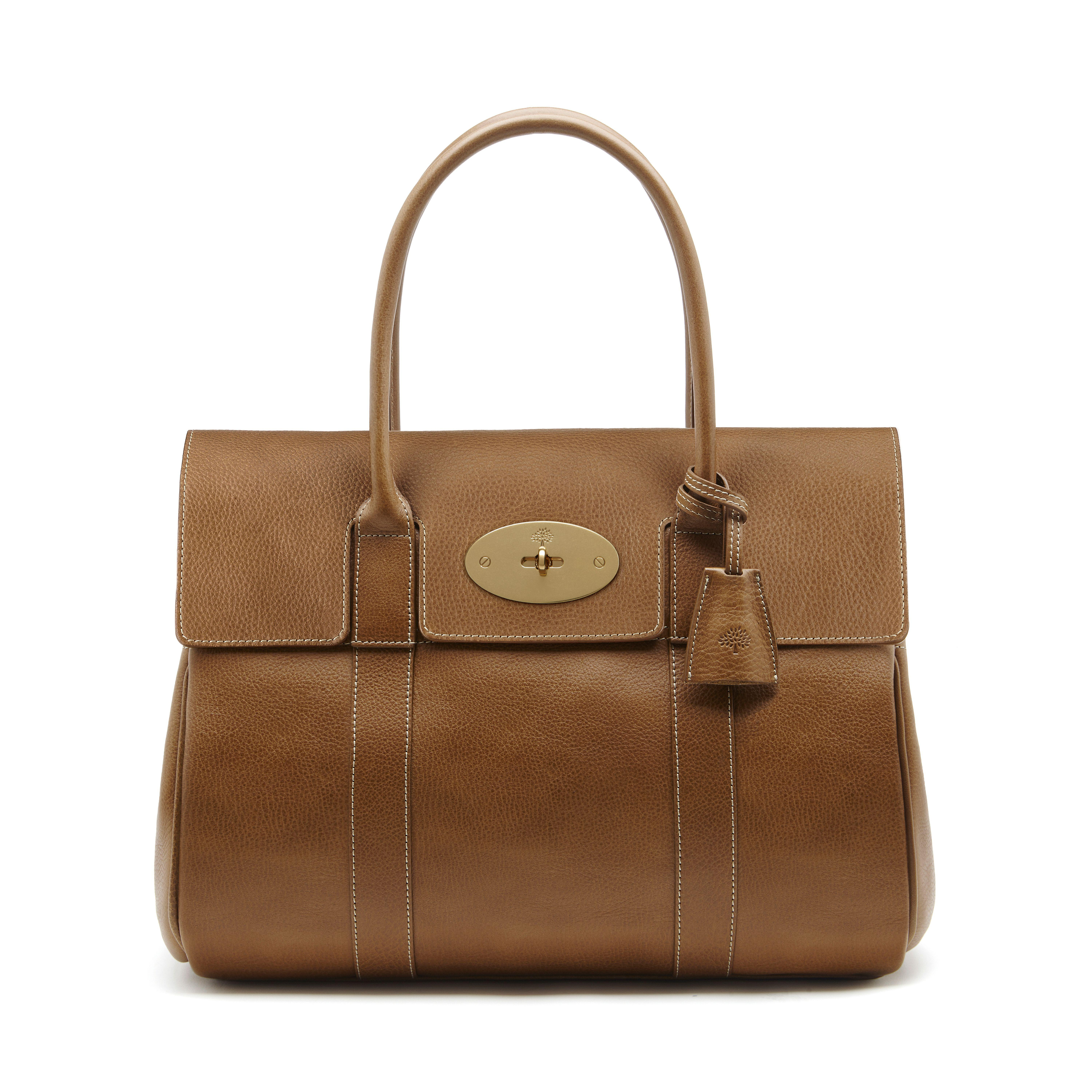 79034df847 ... top quality mulberry. womens brown bayswater leather bag 6a406 b0b01