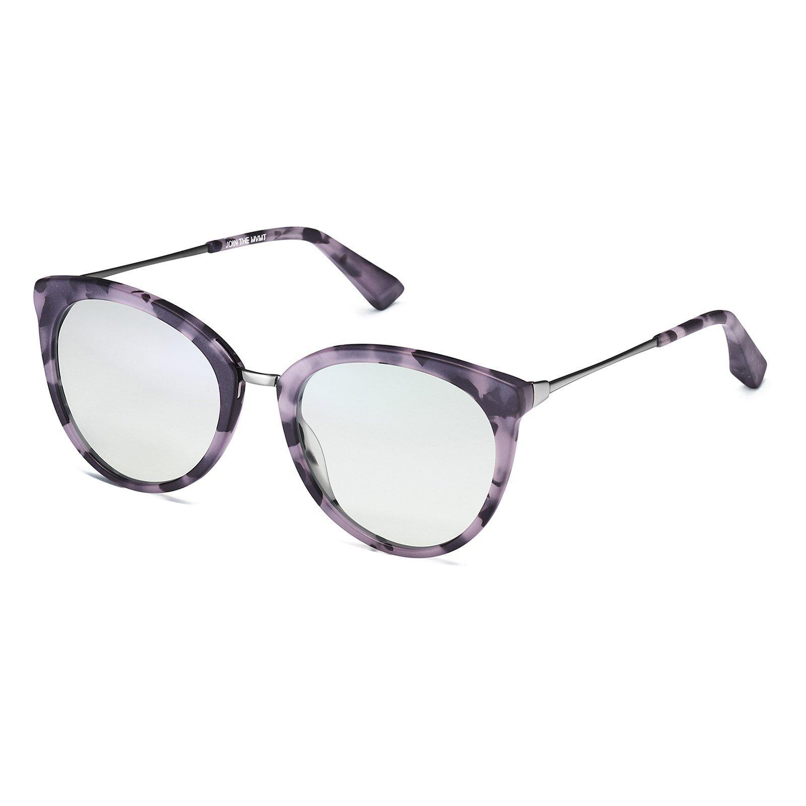 c0aa8956f1f Women's Muse Clear Purple Tortoise + Clear Lens