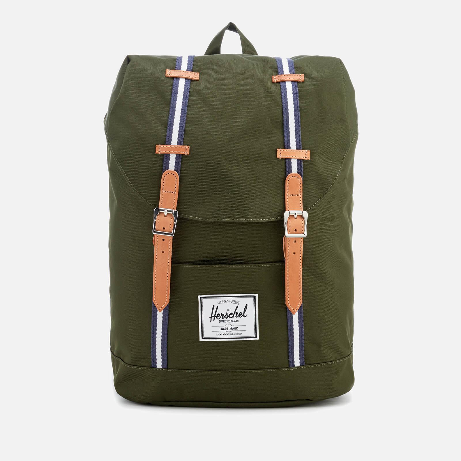 lyst herschel supply co retreat backpack in green for men. Black Bedroom Furniture Sets. Home Design Ideas