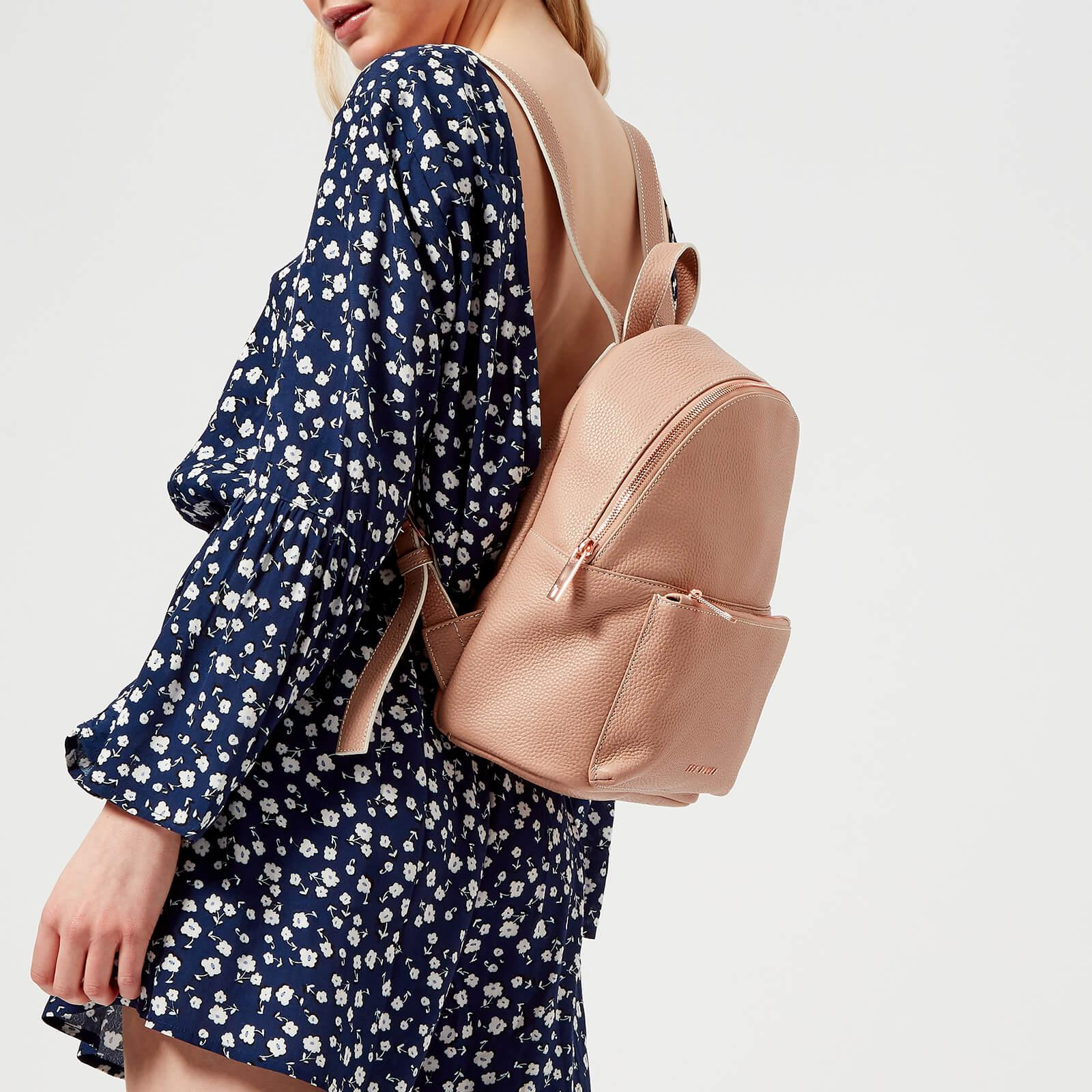 a055baac2 Lyst - Ted Baker Pearen Soft Grain Backpack