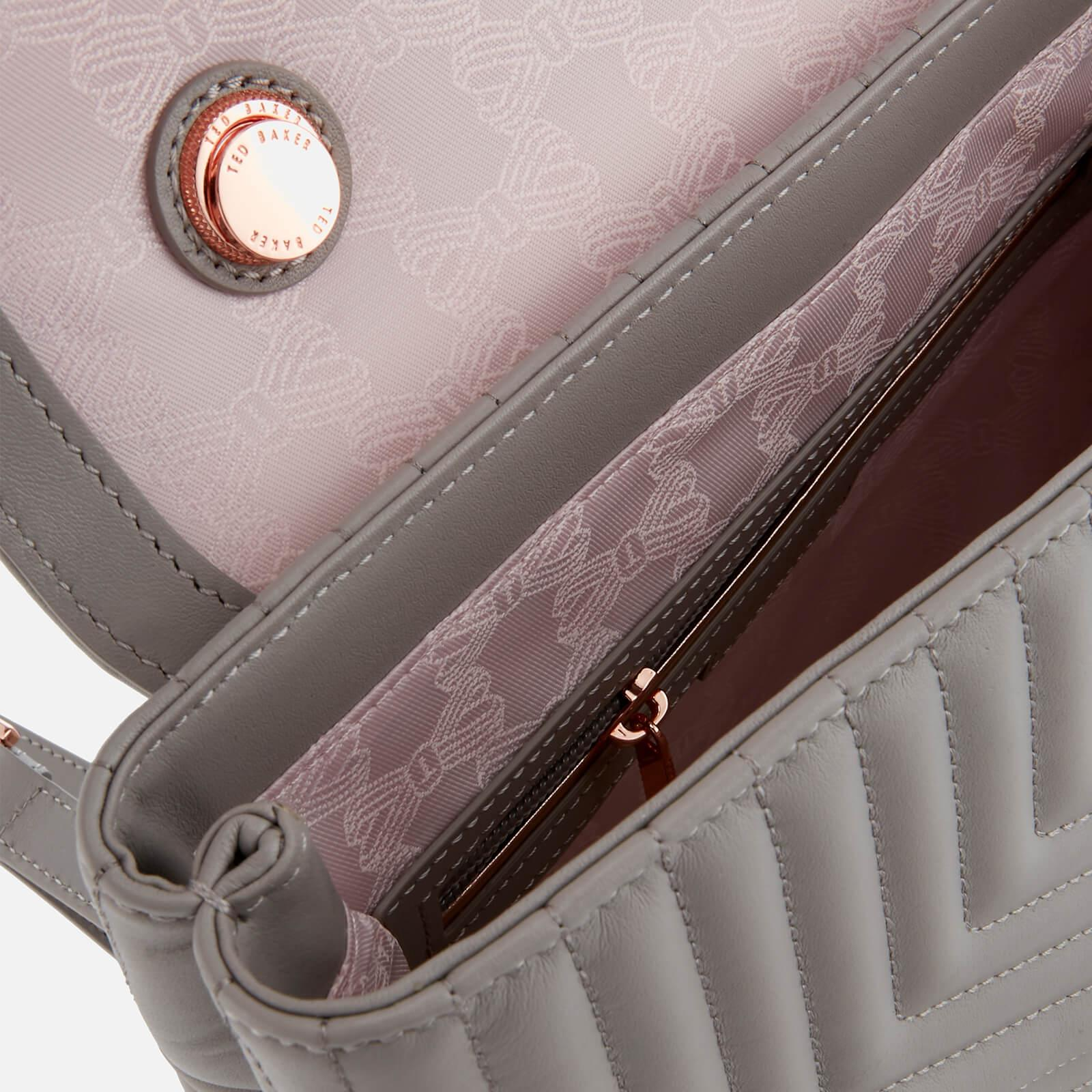 ada56cb94 Lyst - Ted Baker Coletee Quilted Bow Leather Backpack