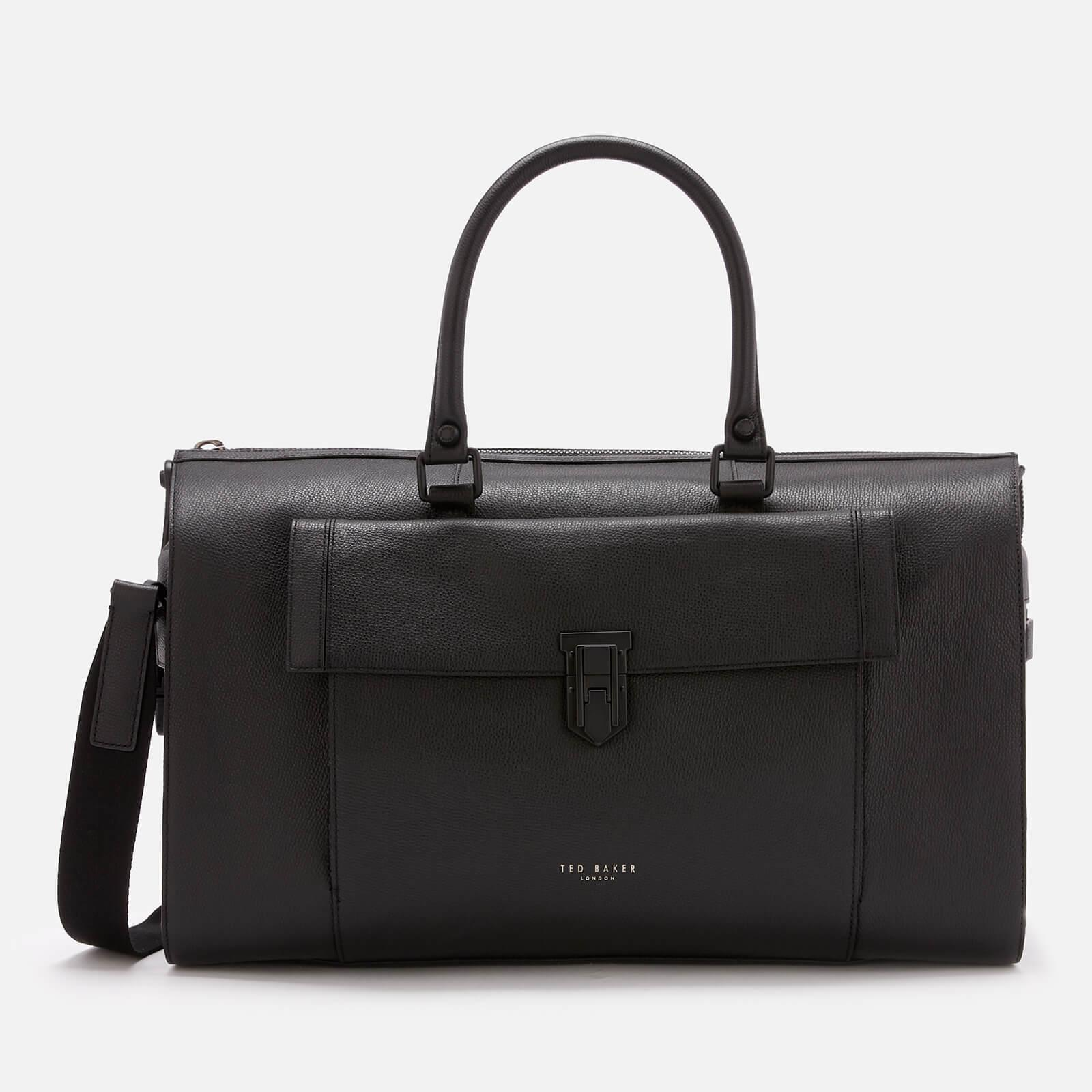 f685074ce7 Lyst - Ted Baker Starmo Coloured Leather Holdall Bag in Black for Men
