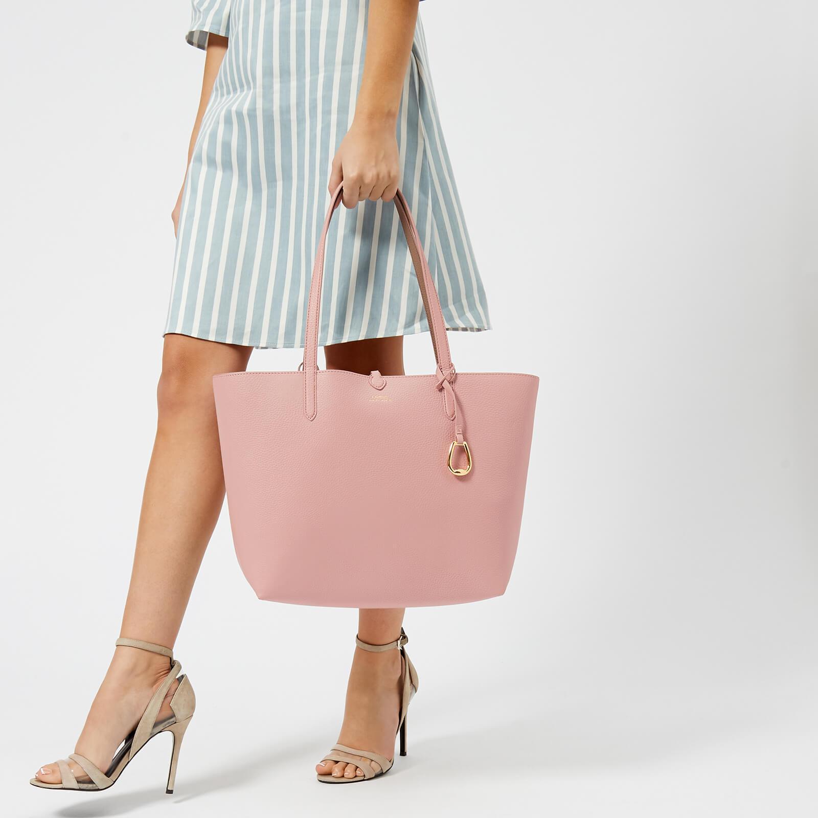 2c48b217ccb4 Lauren by Ralph Lauren Merrimack Reversible Tote Bag in Pink - Lyst