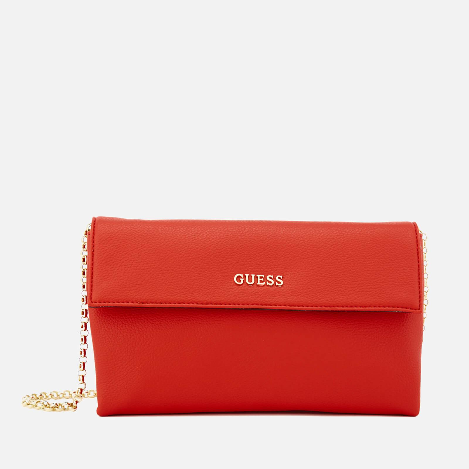 Lyst - Guess Tulip Envelope Clutch Bag in Red 5716a1c0c4a8e