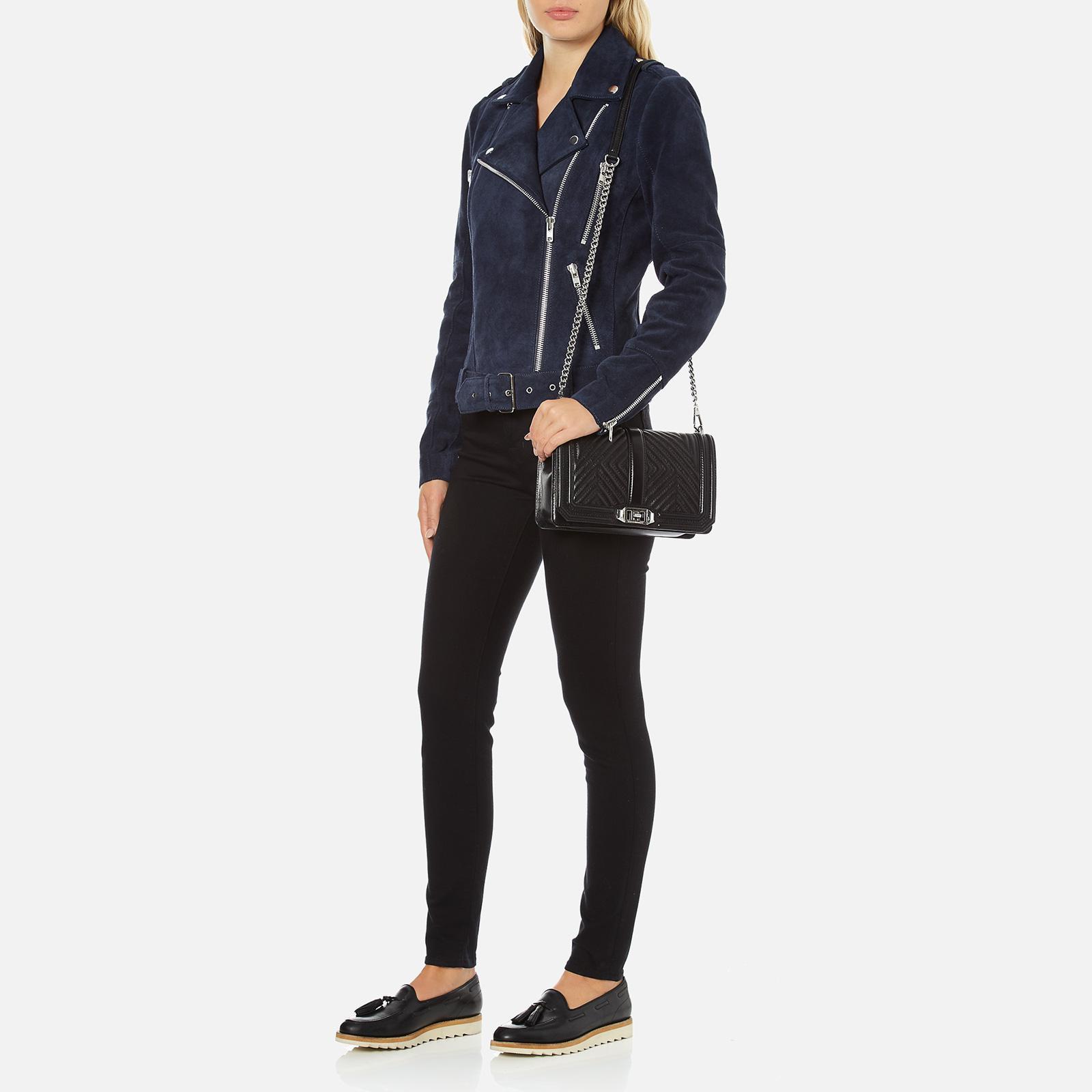 Rebecca Minkoff Geo Quilted Love Cross-Body Shoulder Bag